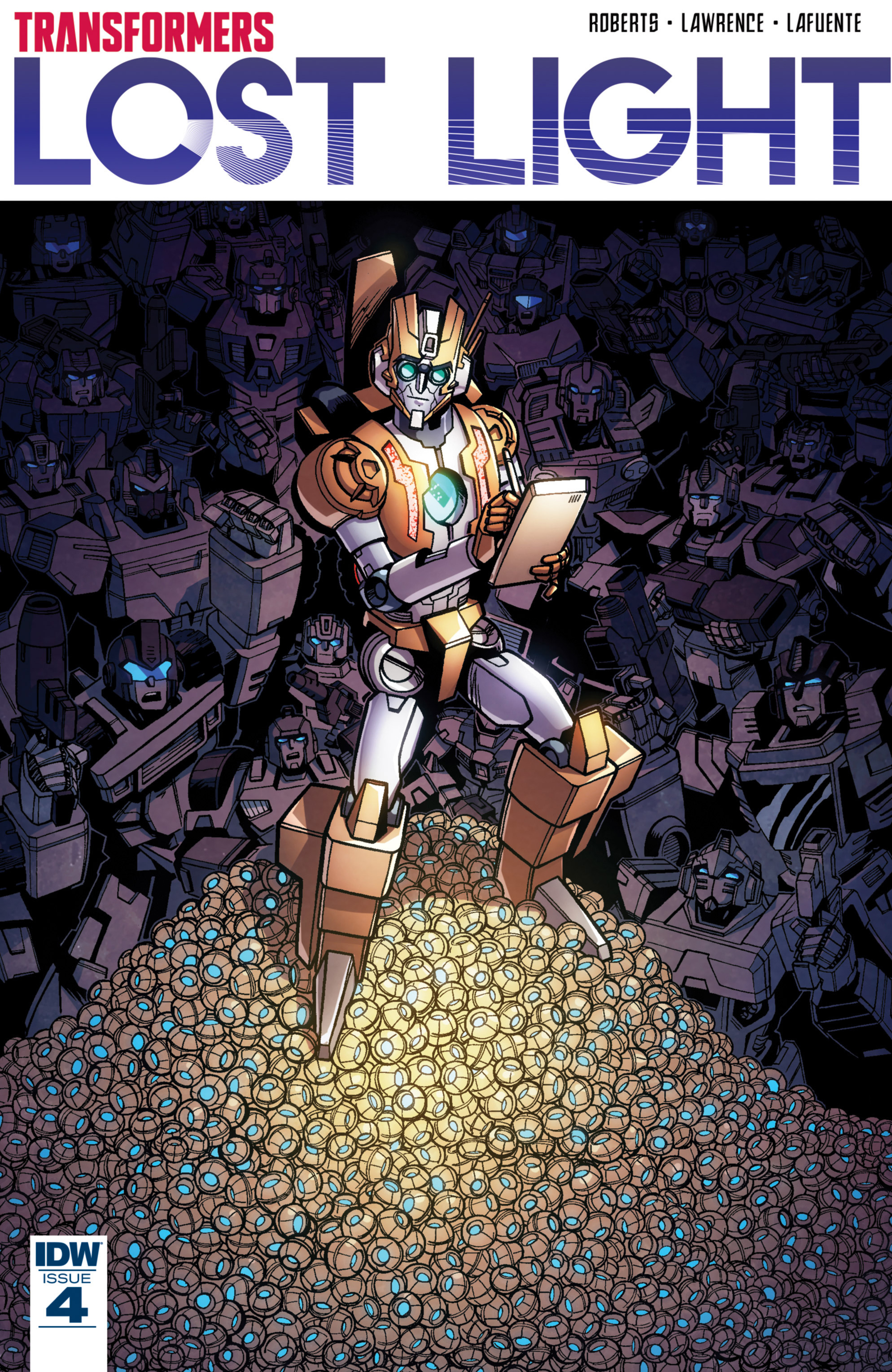 Read online Transformers: Lost Light comic -  Issue #4 - 1
