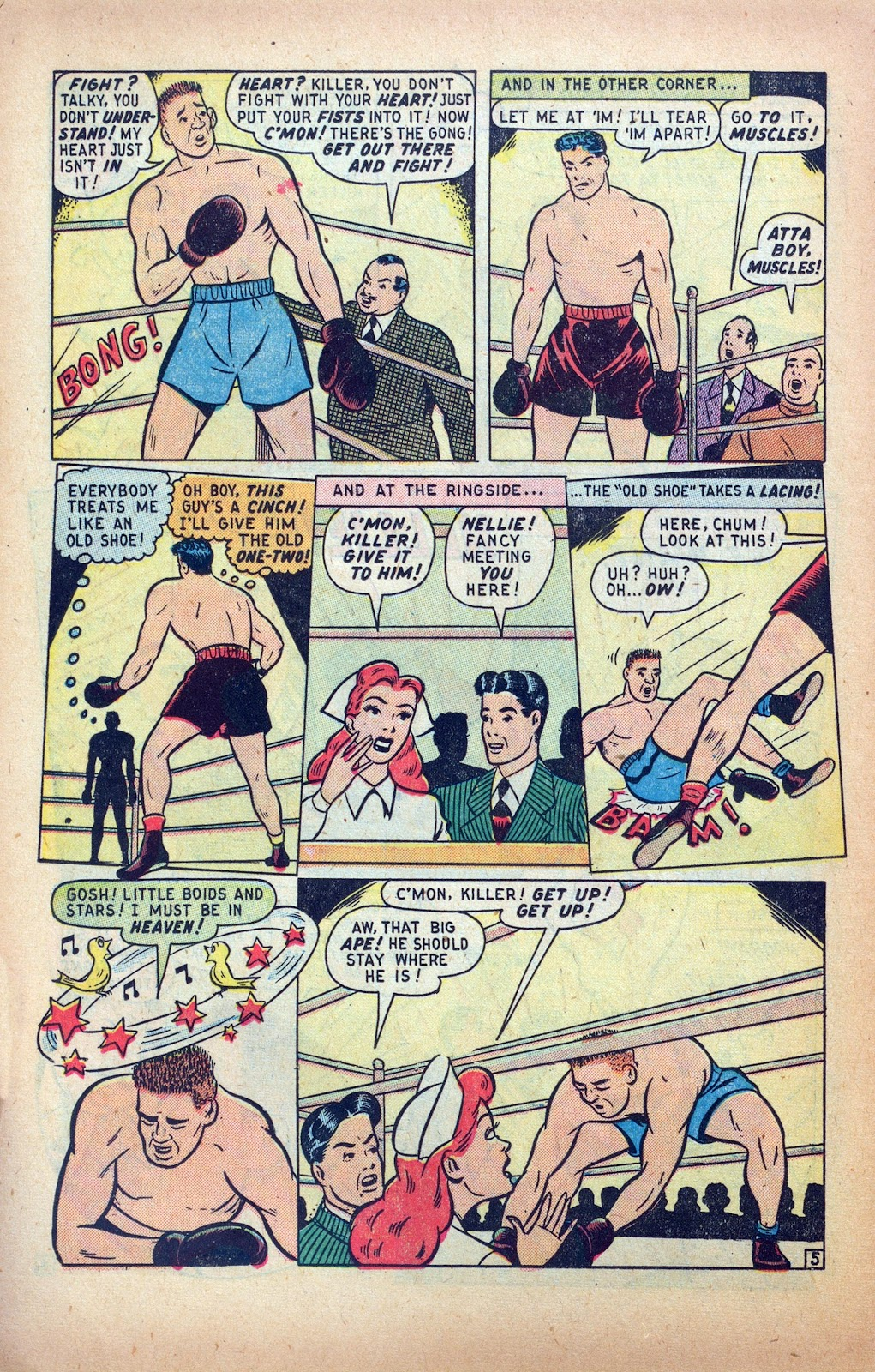 Read online Nellie The Nurse (1945) comic -  Issue #24 - 14