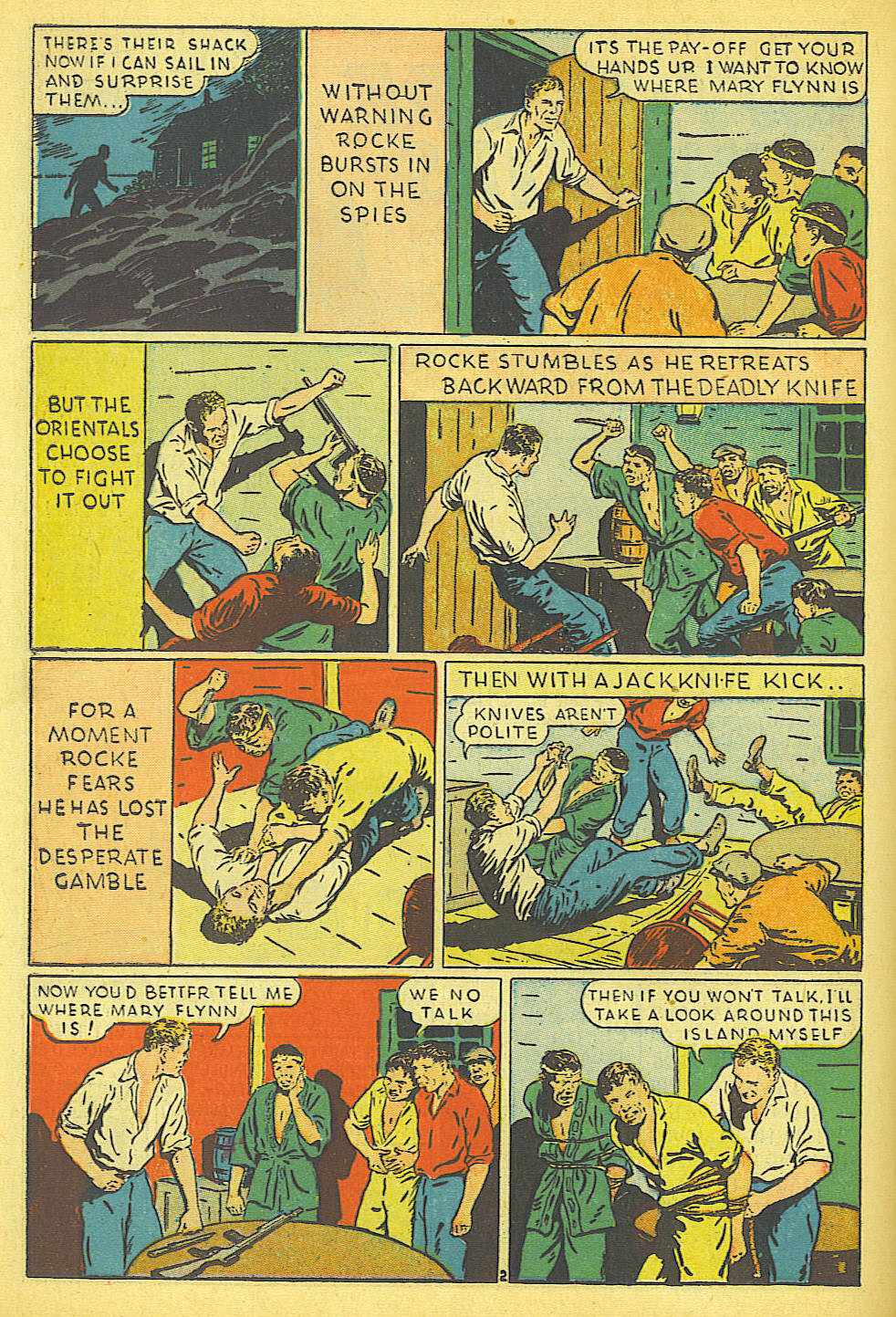 Read online Amazing Man Comics comic -  Issue #19 - 32