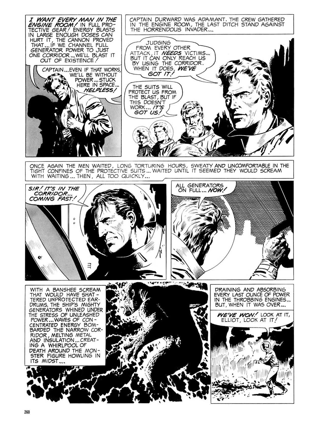 Read online Eerie Archives comic -  Issue # TPB 2 - 261