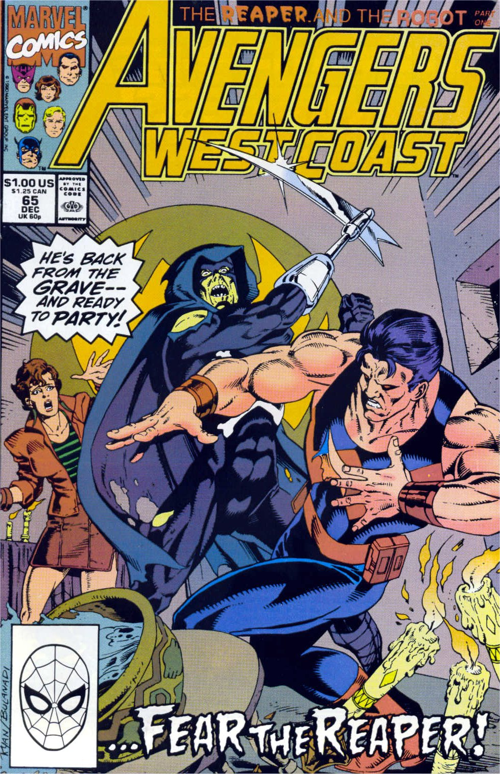 Avengers West Coast (1989) 65 Page 1