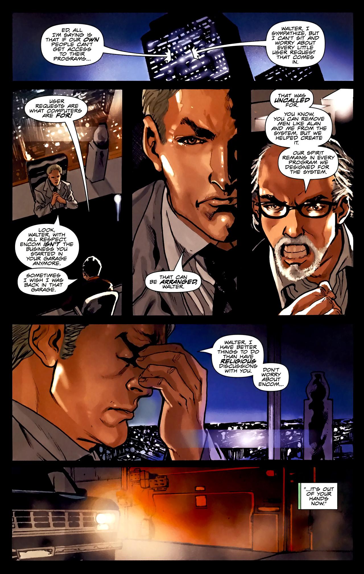 Read online TRON: Original Movie Adaptation comic -  Issue #1 - 25