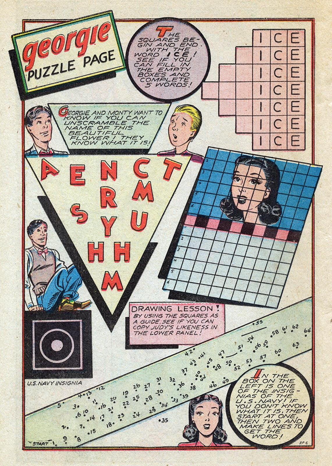 Georgie Comics (1945) issue 4 - Page 34