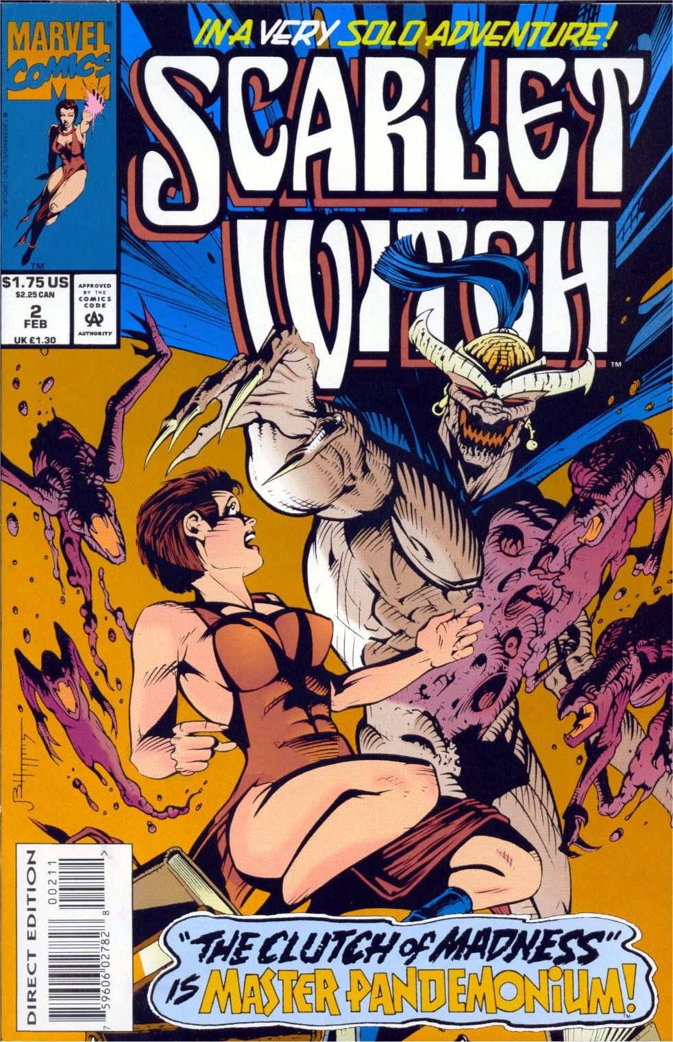 Scarlet Witch (1994) Issue #2 #2 - English 1