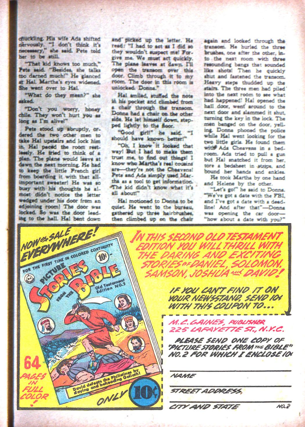 Read online Sensation (Mystery) Comics comic -  Issue #15 - 49