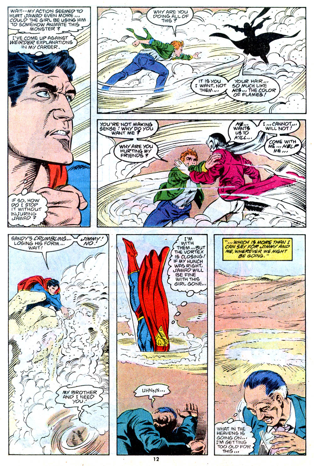 Read online Adventures of Superman (1987) comic -  Issue #443 - 13