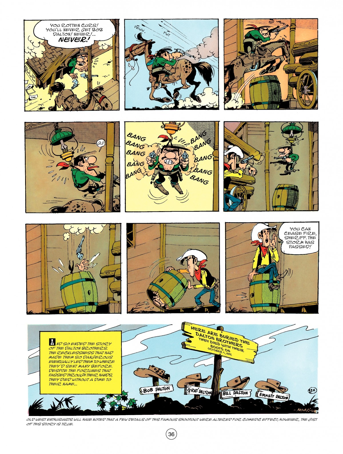 Read online A Lucky Luke Adventure comic -  Issue #47 - 36