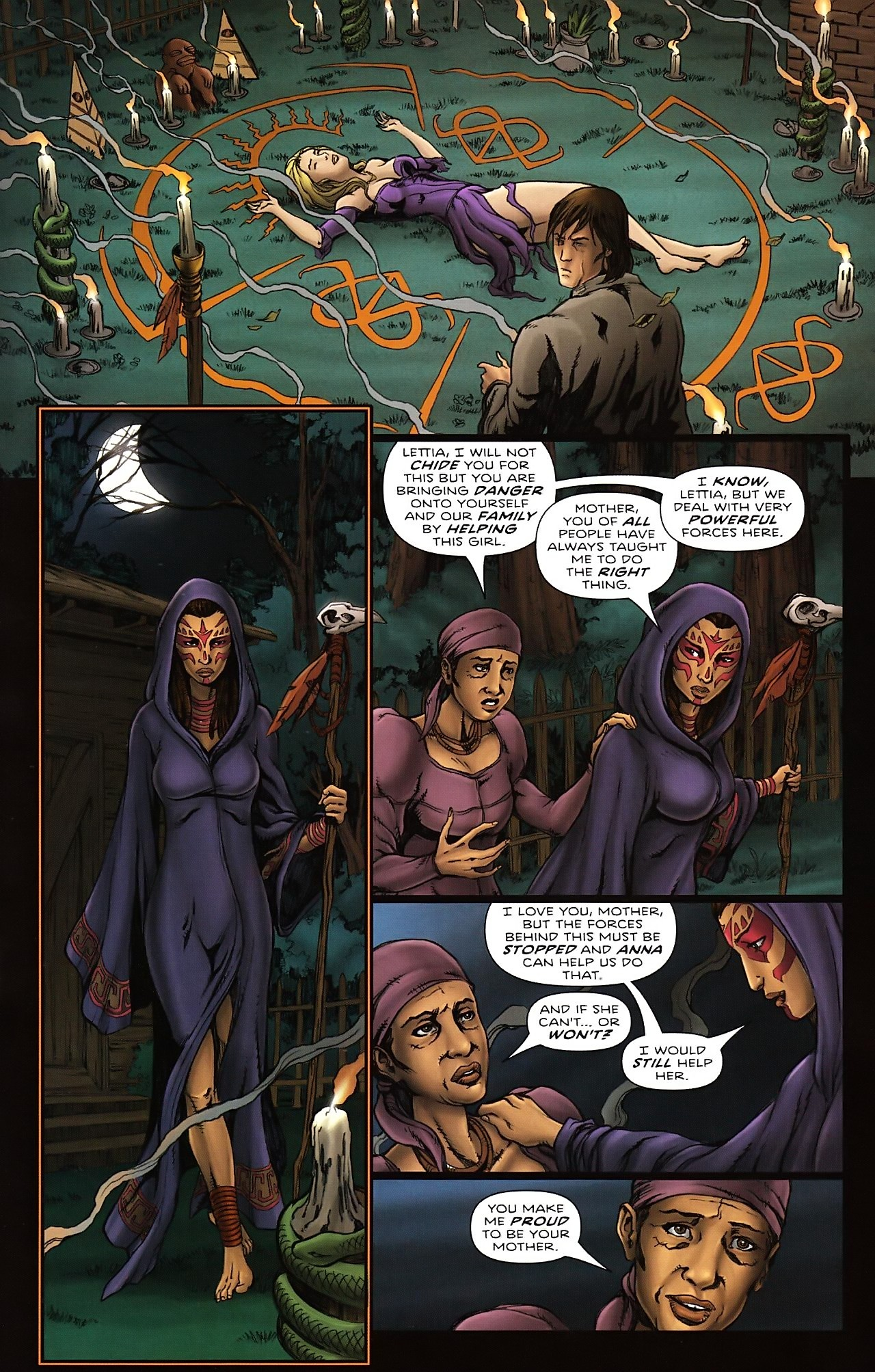 Read online Salem's Daughter: The Haunting comic -  Issue #4 - 11