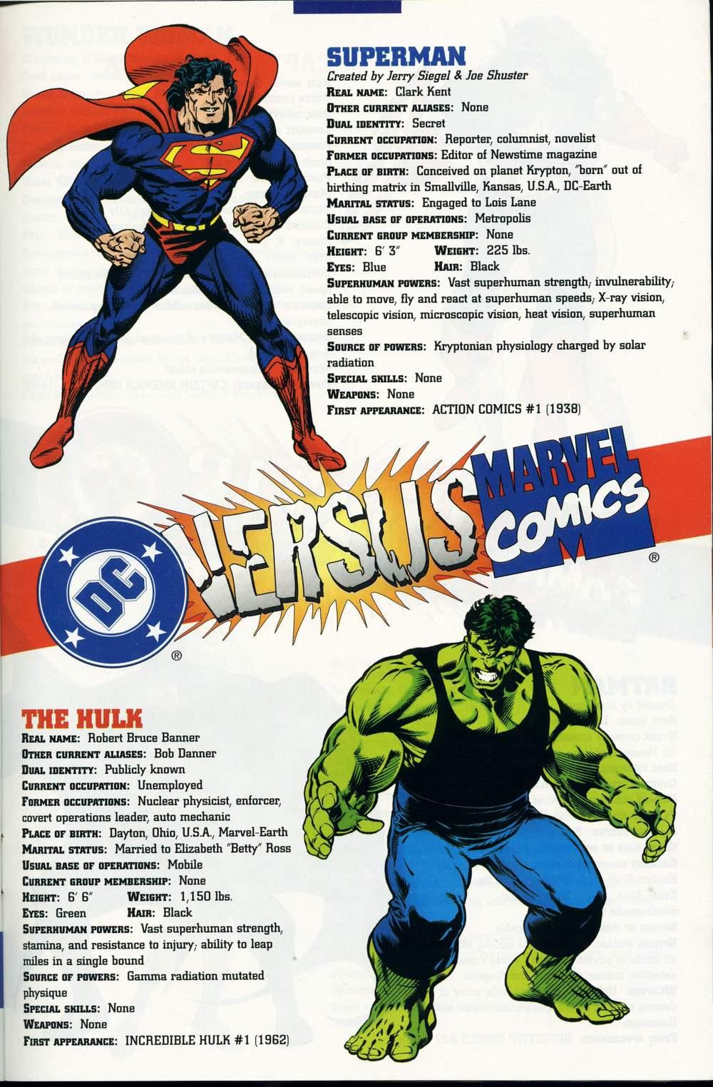 Read online DC Versus Marvel Comics comic -  Issue #1 - 37