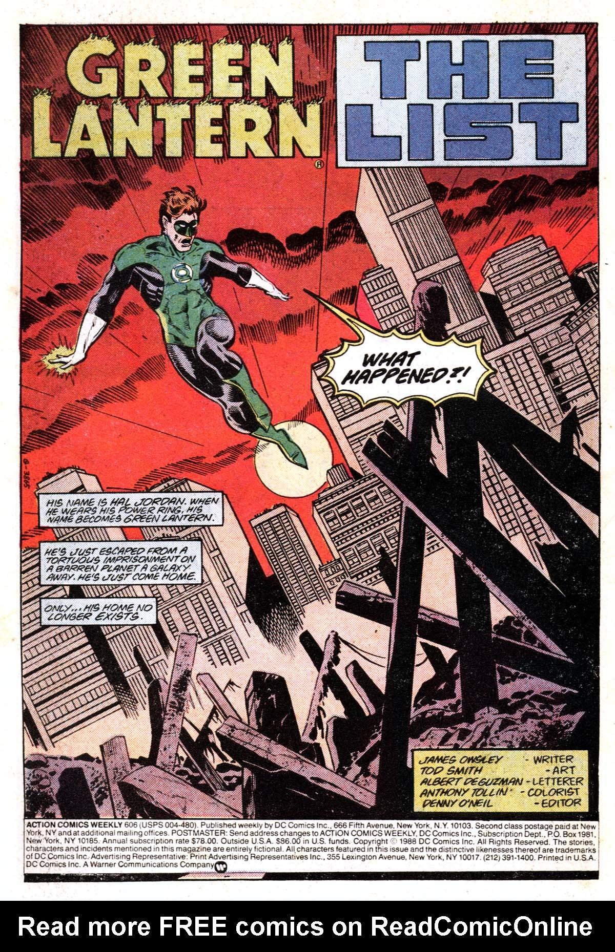 Action Comics (1938) 606 Page 1