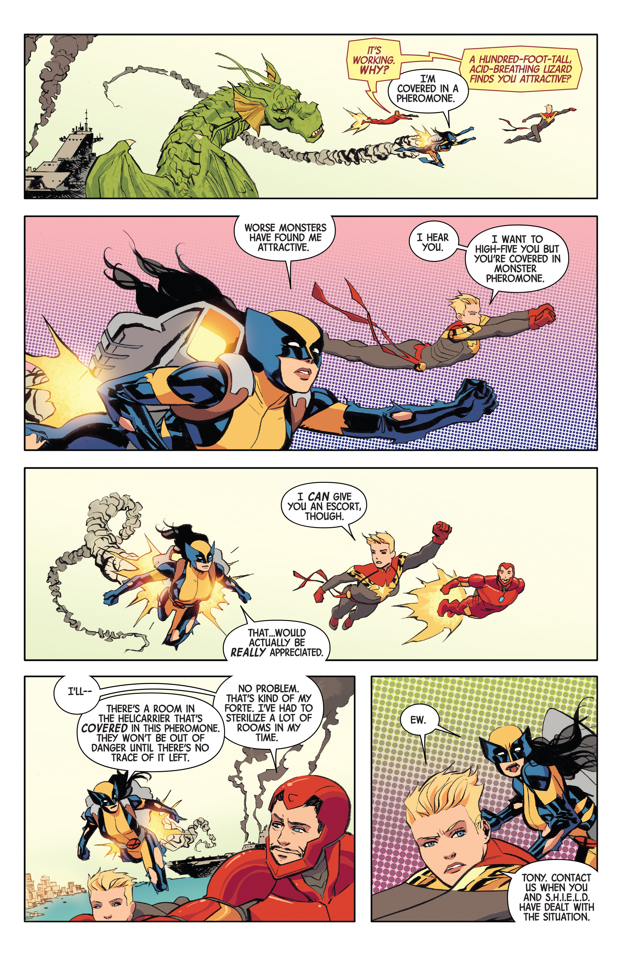 Read online All-New Wolverine (2016) comic -  Issue #9 - 19