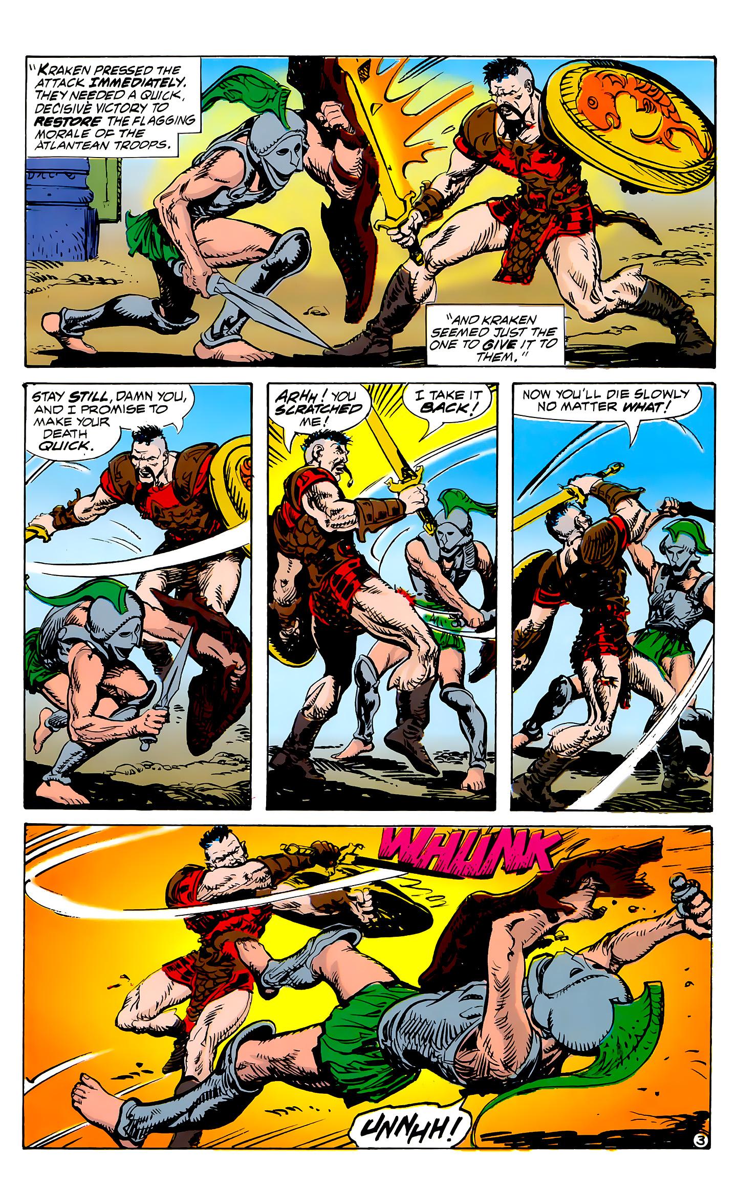 Read online Atlantis Chronicles comic -  Issue #7 - 4