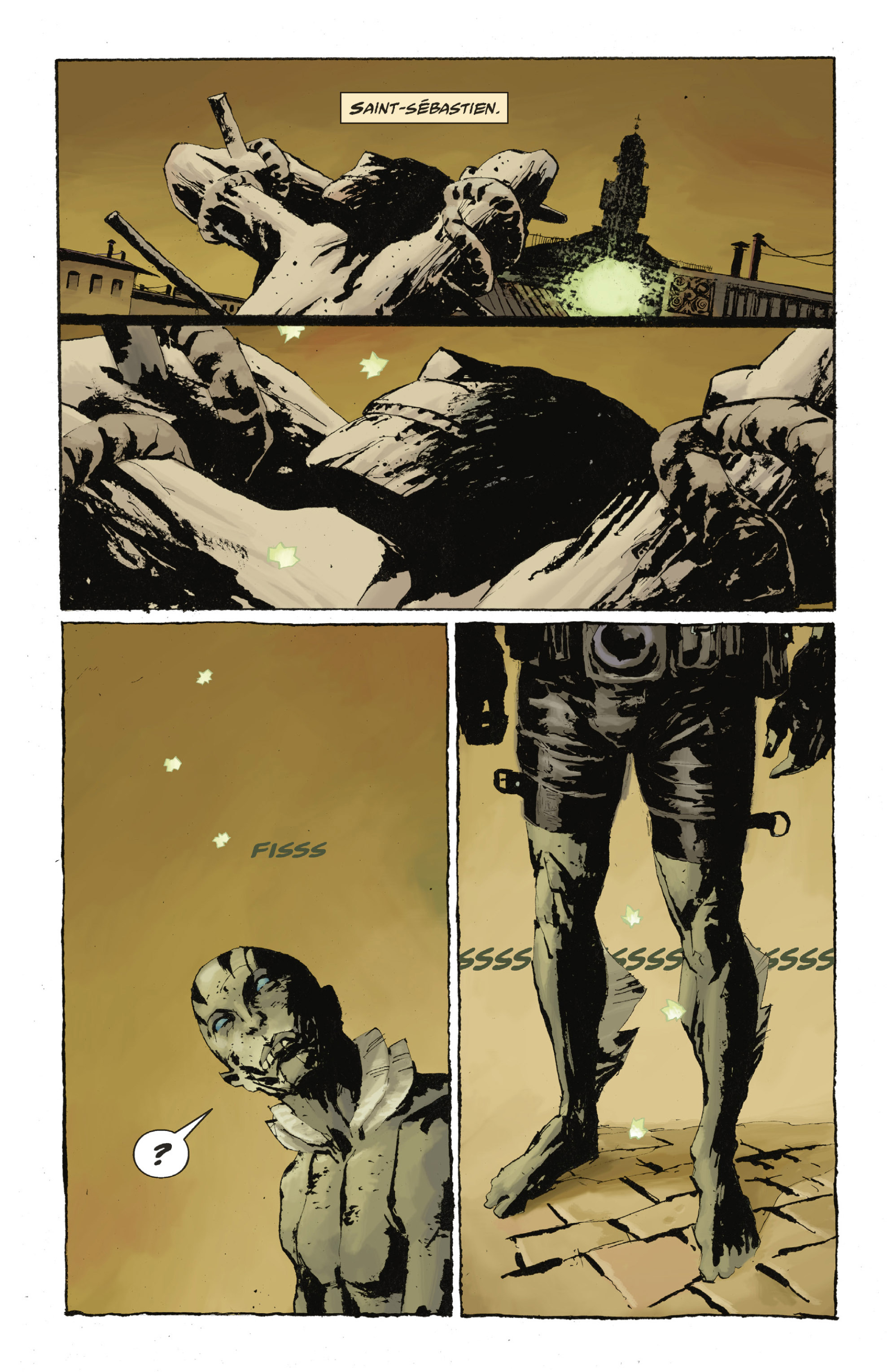 Read online Abe Sapien: The Drowning comic -  Issue #Abe Sapien: The Drowning _TPB - 61