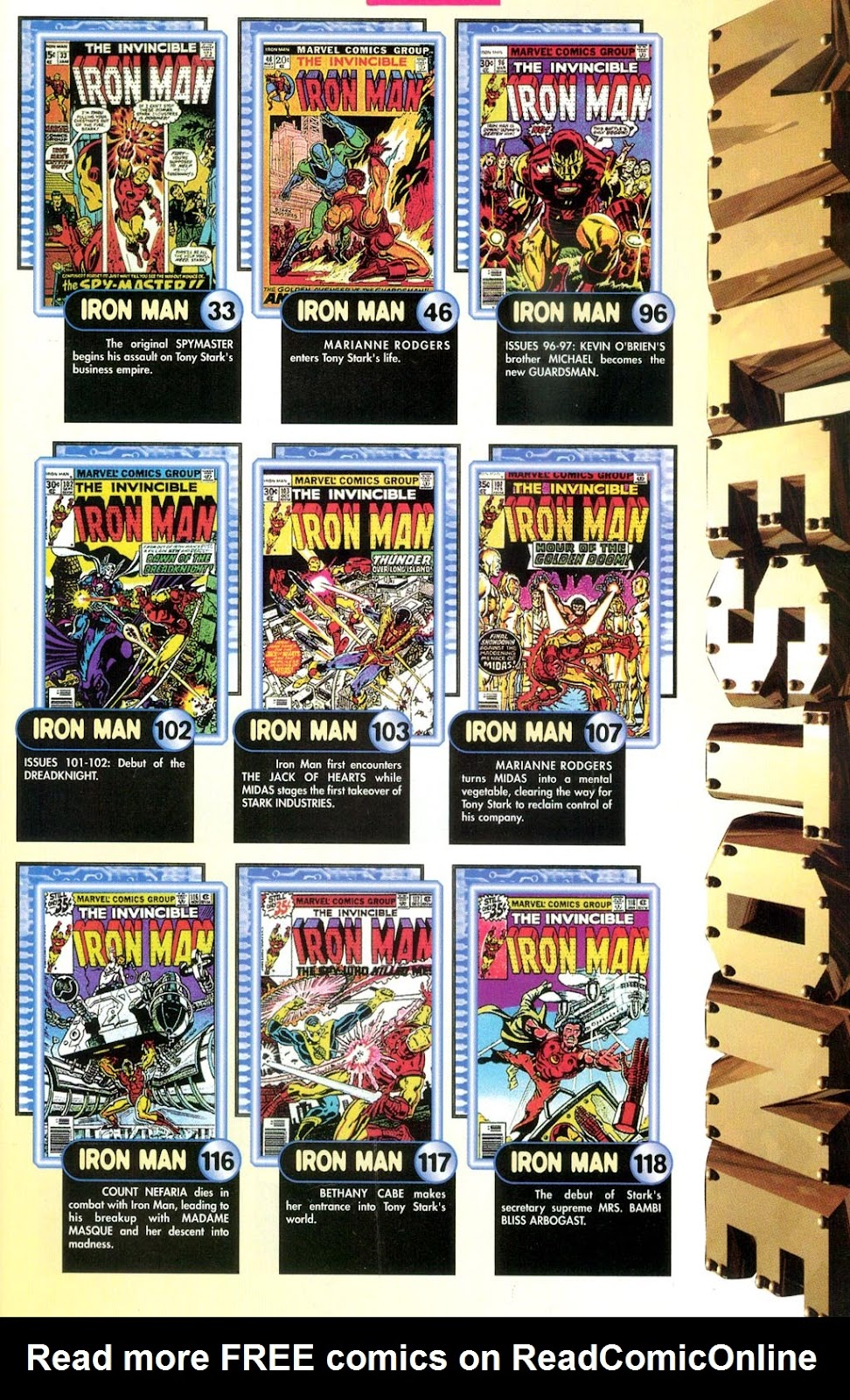 Read online Iron Man: The Legend comic -  Issue # Full - 9