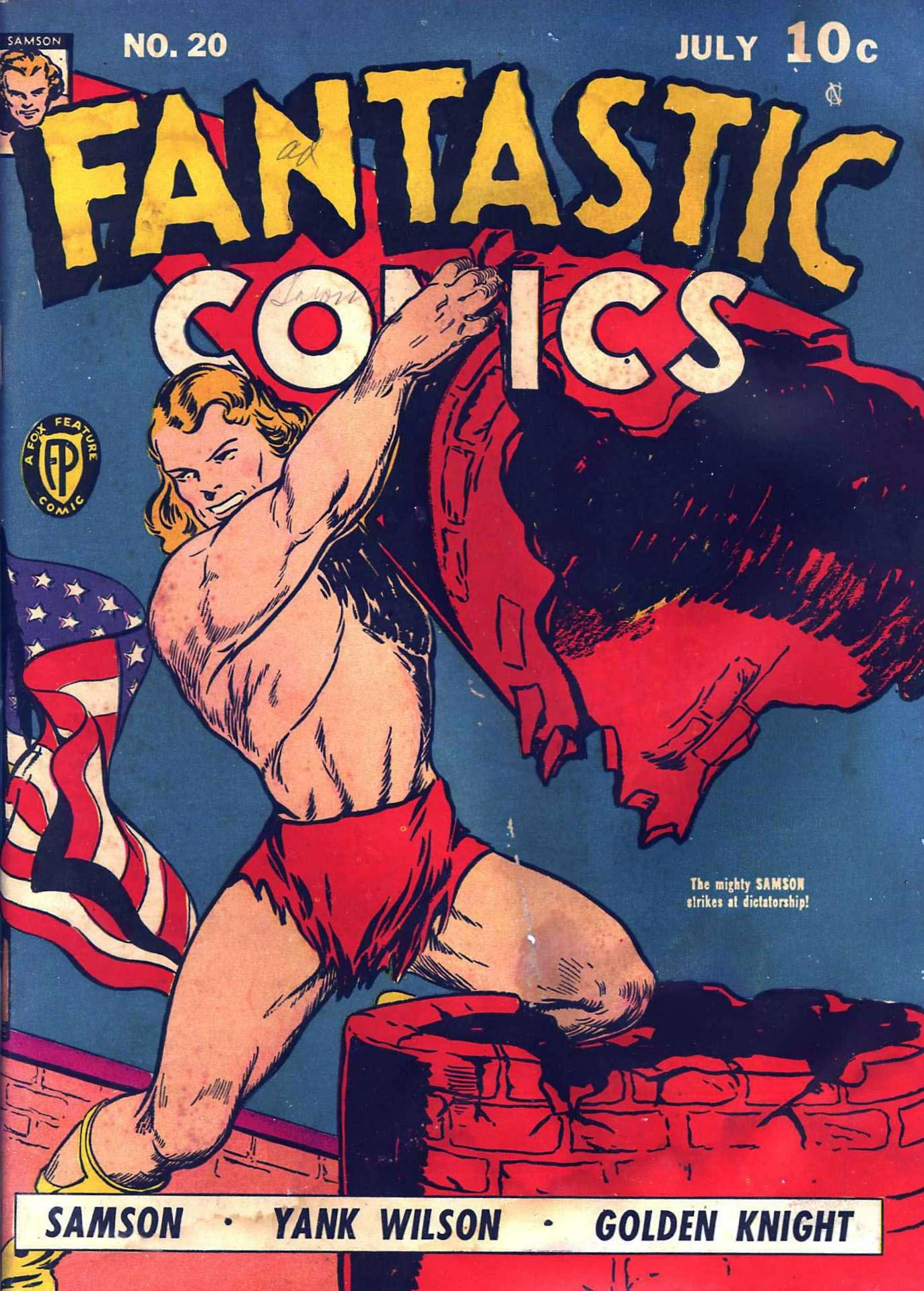 Fantastic Comics 20 Page 1