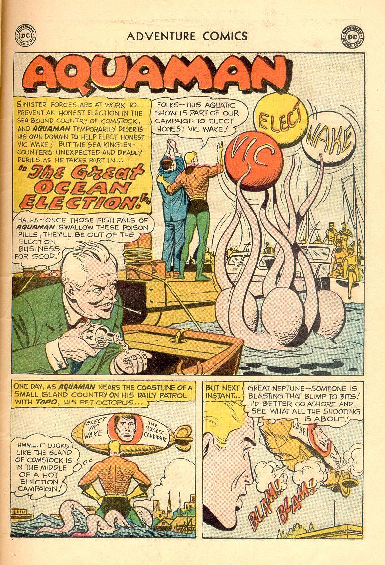 Read online Adventure Comics (1938) comic -  Issue #263 - 26