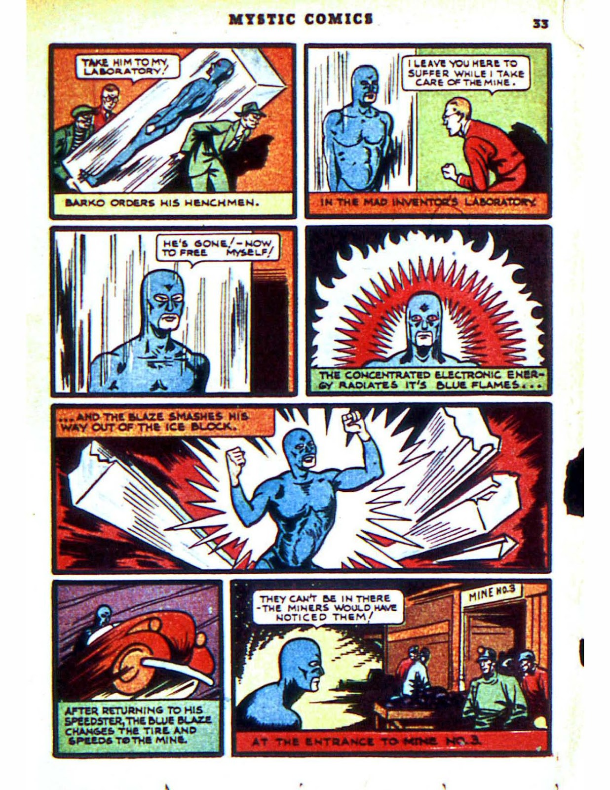 Mystic Comics (1940) issue 2 - Page 35