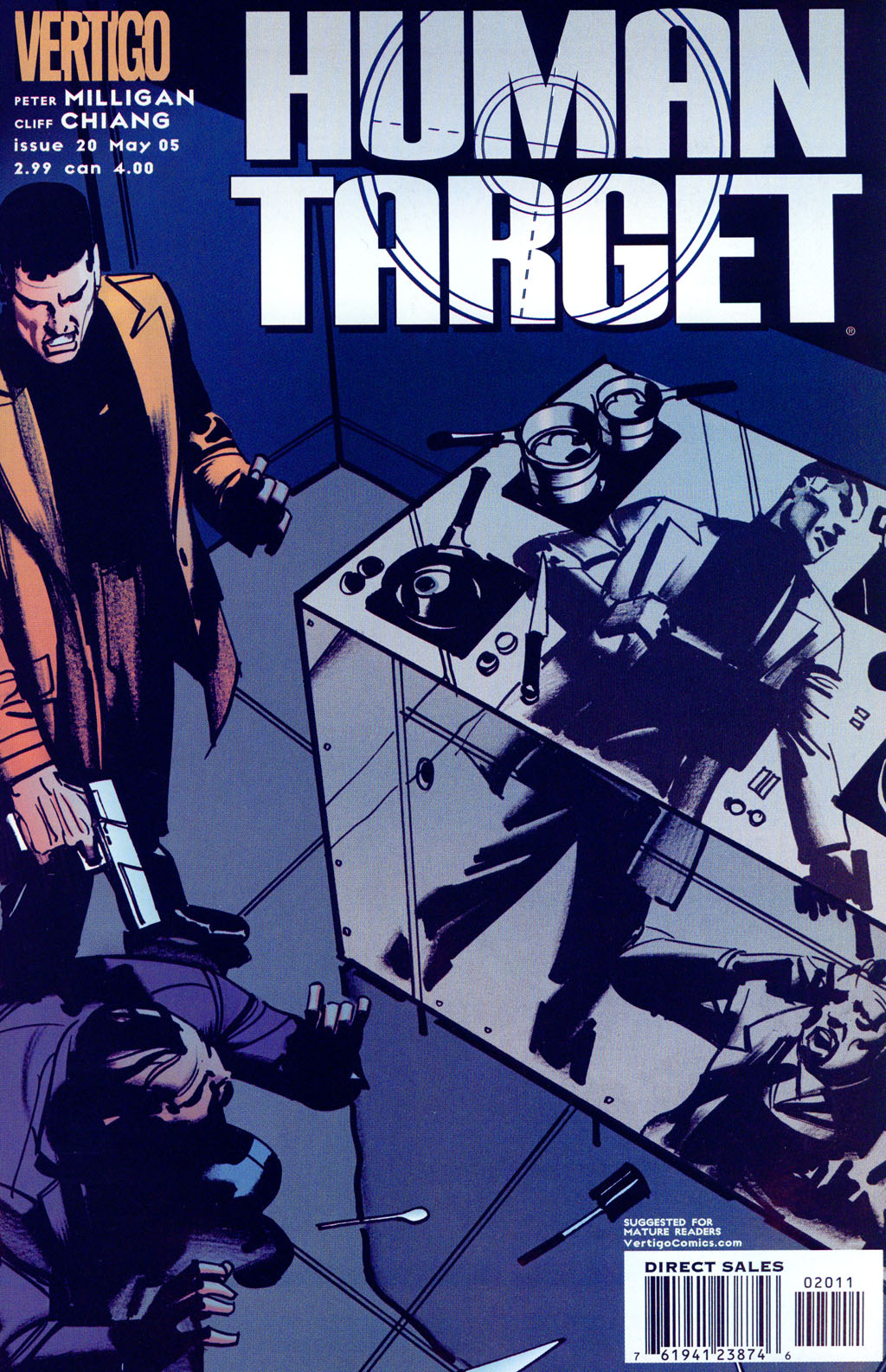 Human Target (2003) issue 20 - Page 1