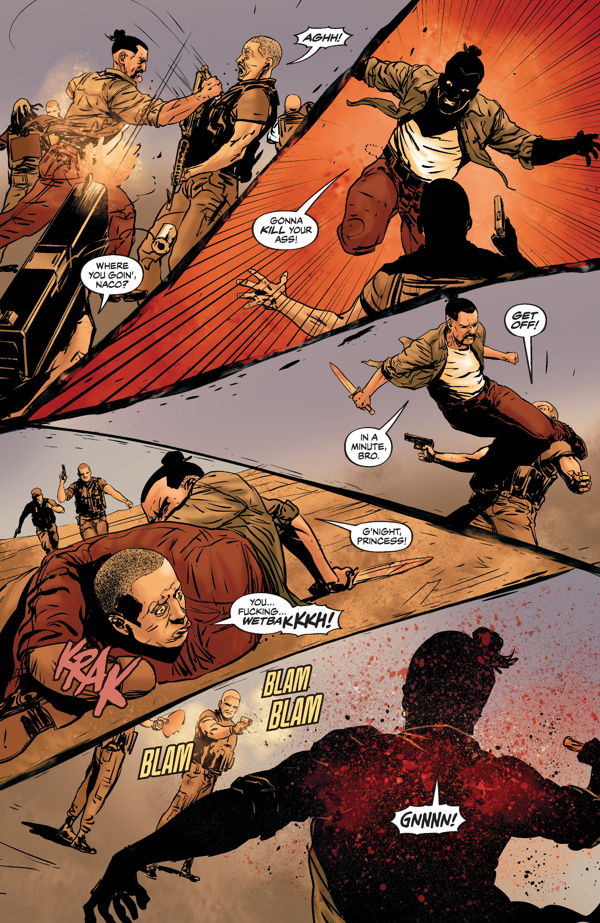 Read online Slayer: Repentless comic -  Issue #3 - 7
