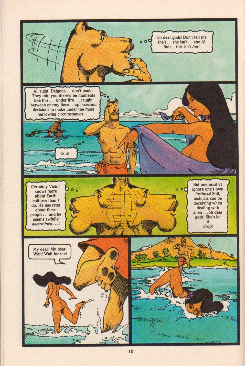 Read online Dalgoda comic -  Issue #4 - 14