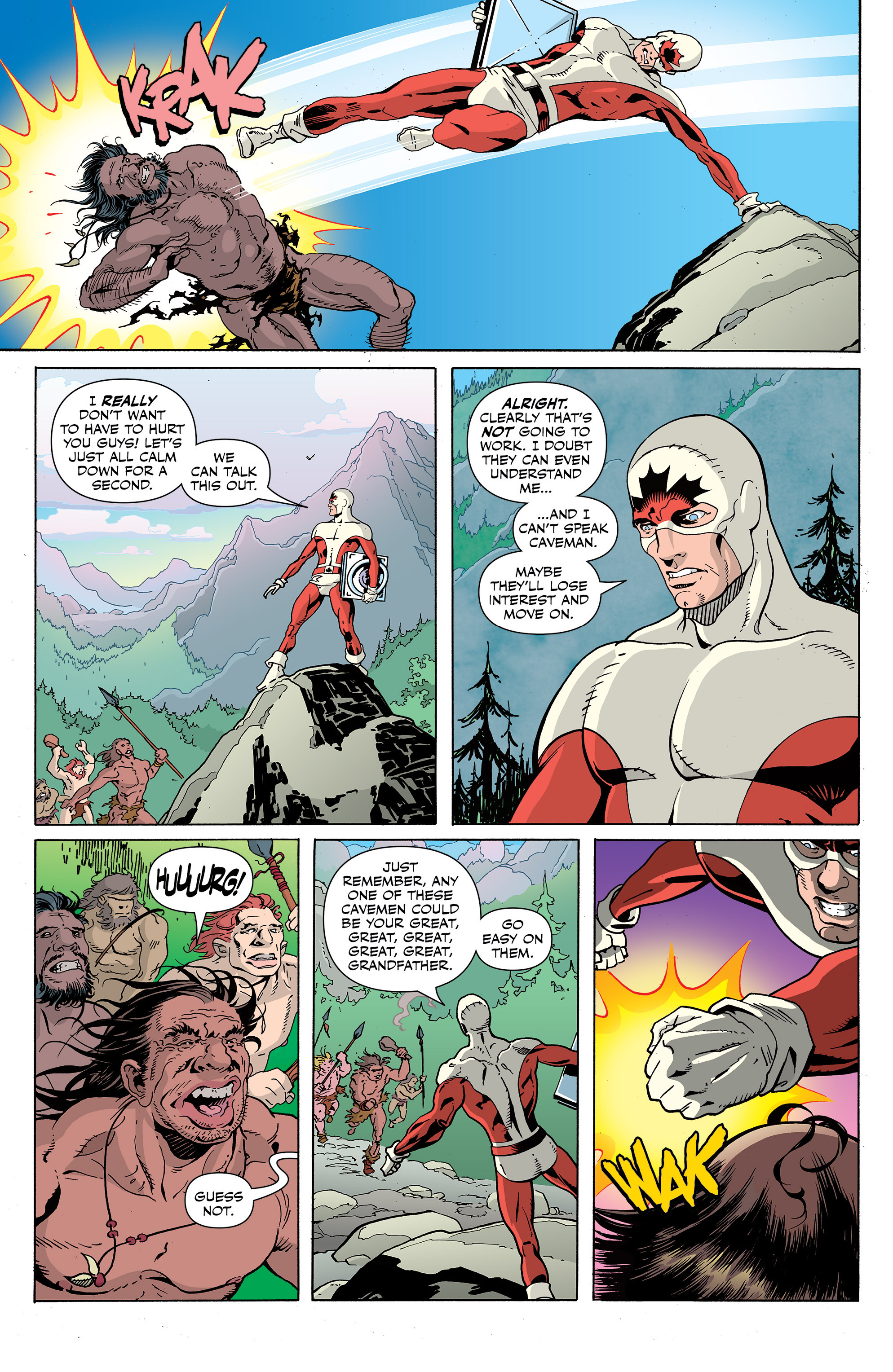 Read online All-New Classic Captain Canuck comic -  Issue #1 - 11