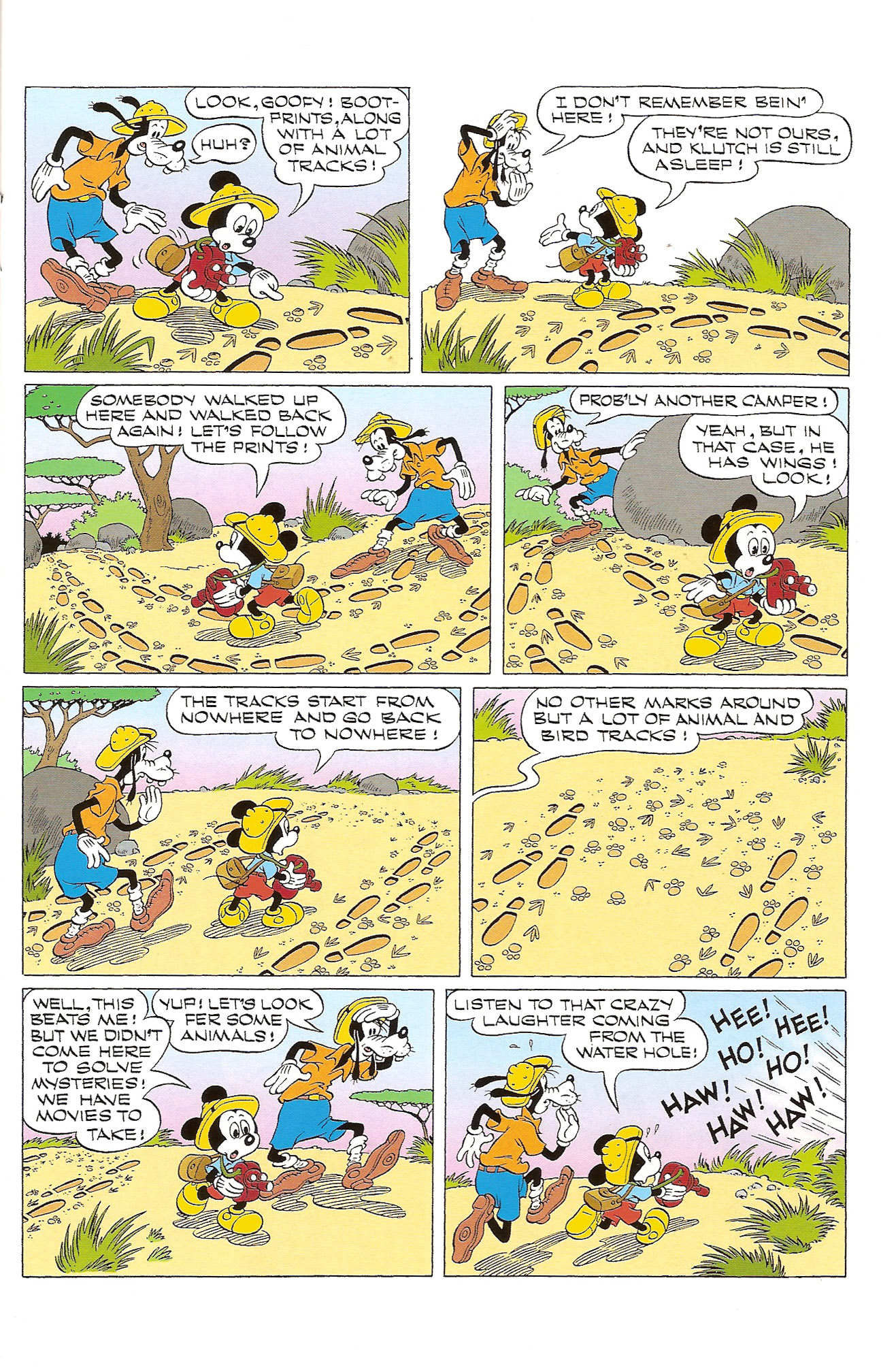 Read online Mickey Mouse (2011) comic -  Issue #305 - 9