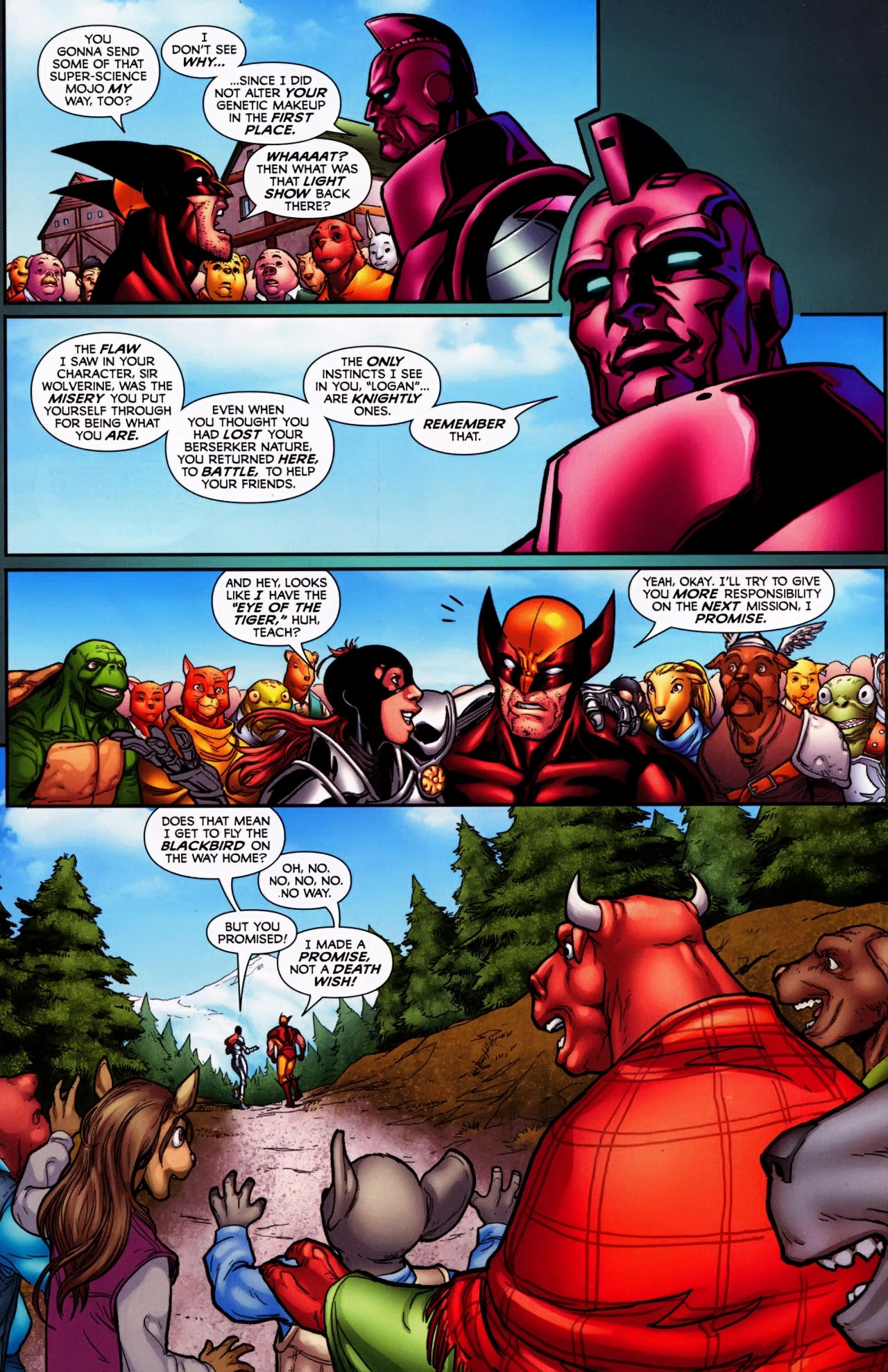 Read online Wolverine: First Class comic -  Issue #4 - 22