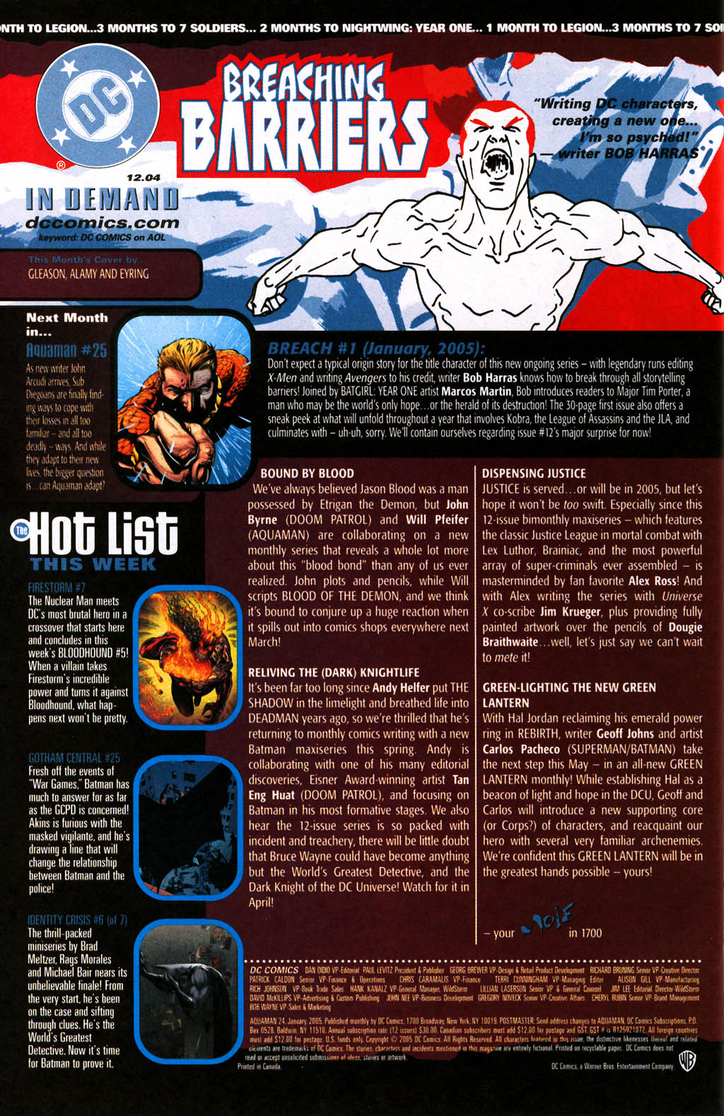 Read online Aquaman (2003) comic -  Issue #24 - 24