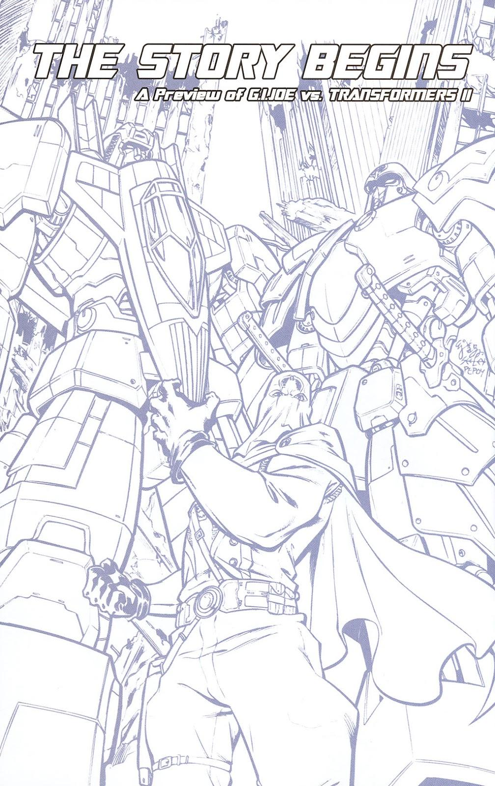 G.I. Joe vs. The Transformers II Issue #0 #1 - English 10