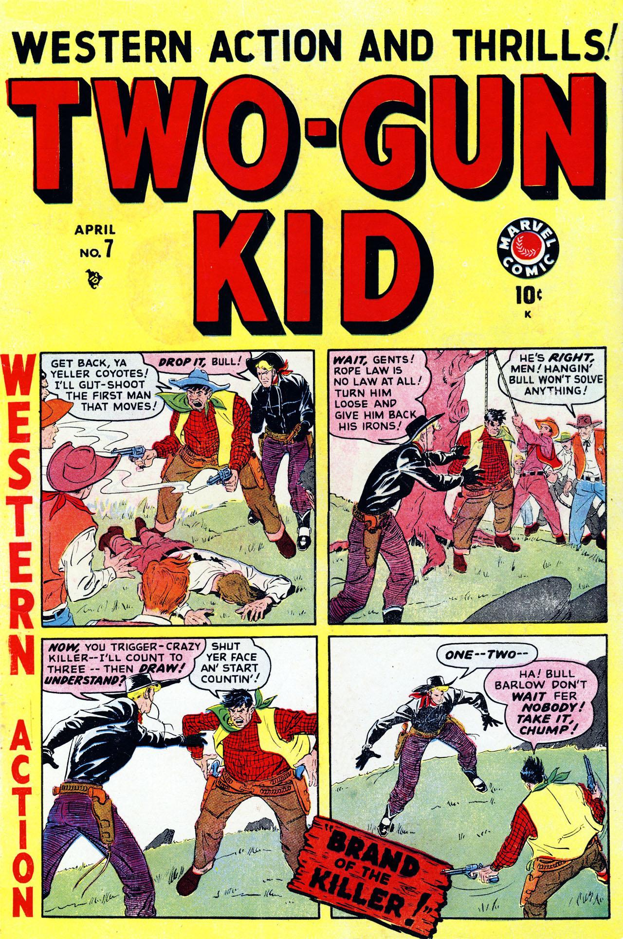 Read online Two-Gun Kid comic -  Issue #7 - 1