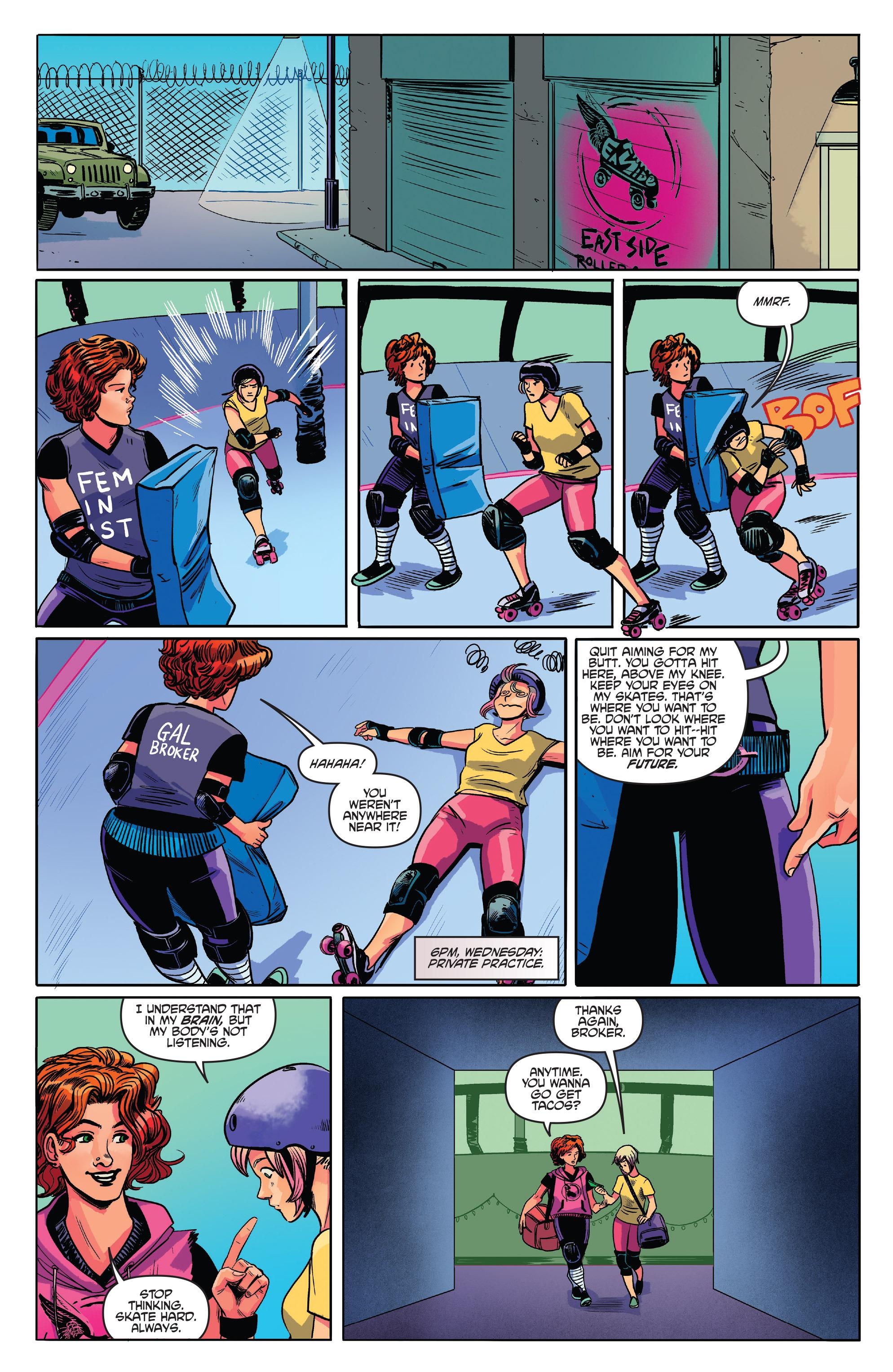 Read online Slam! comic -  Issue #3 - 3