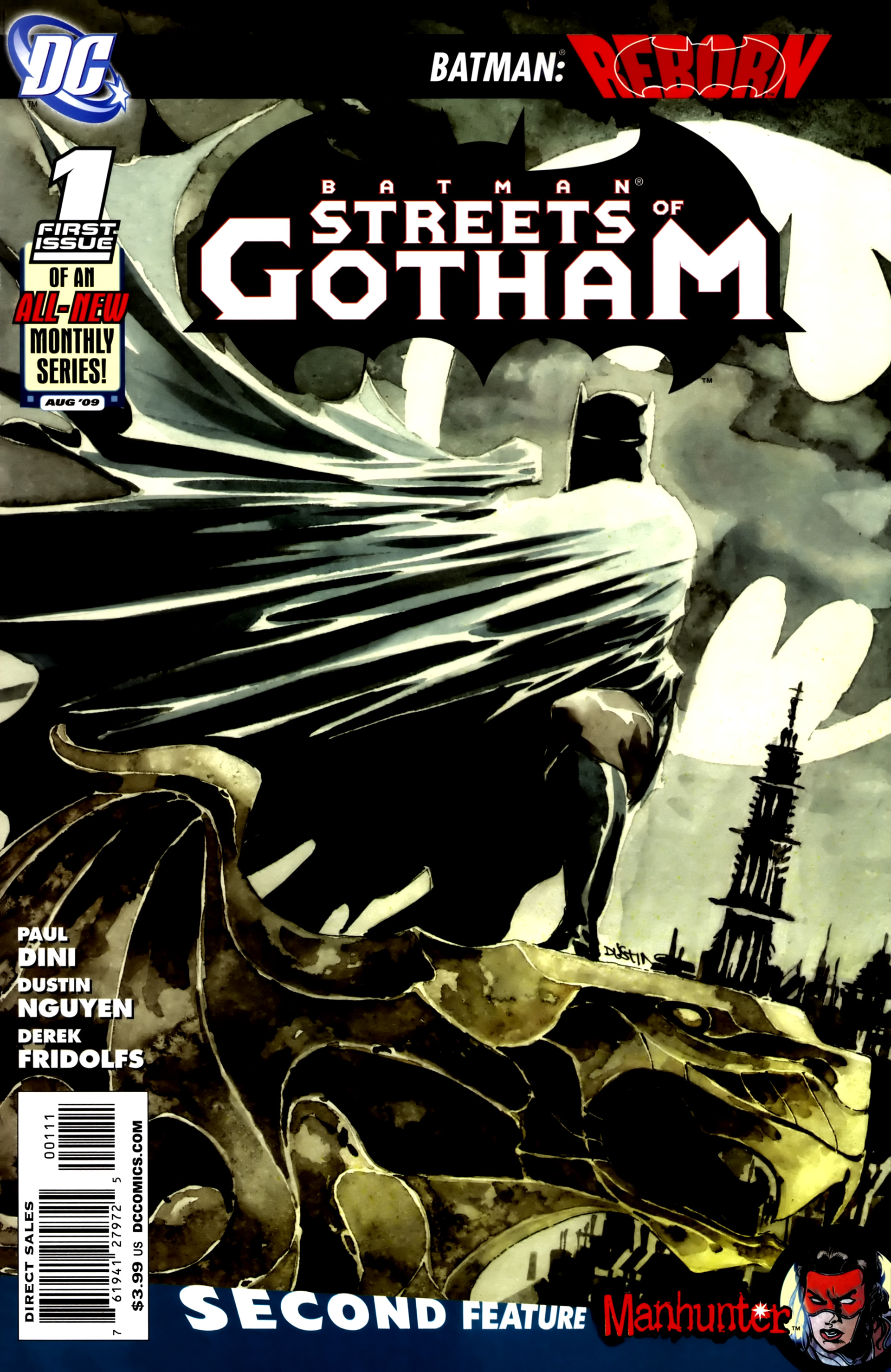 Batman: Streets Of Gotham  issue 1 - Page 1