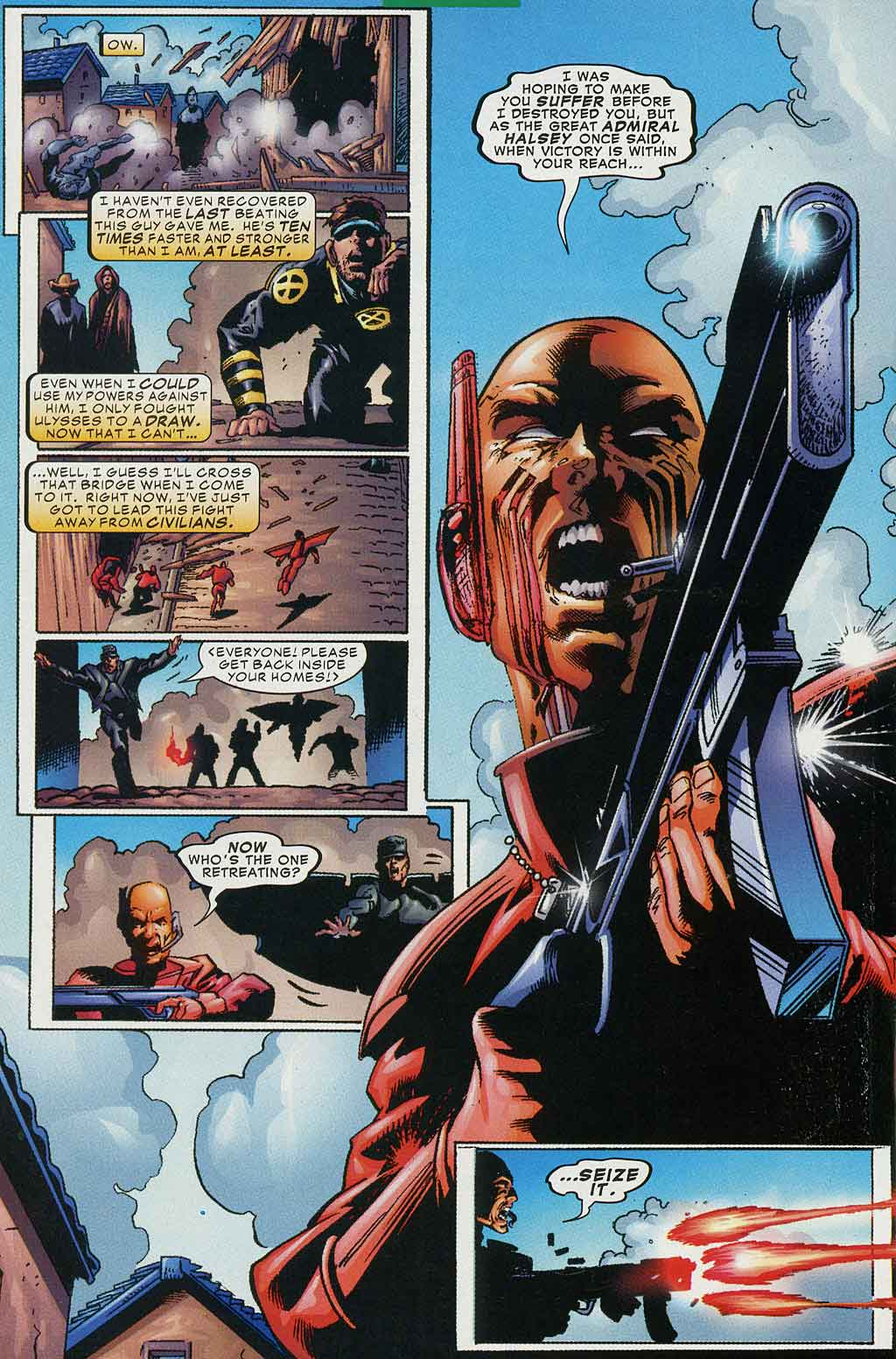 Read online Cyclops (2001) comic -  Issue #4 - 14