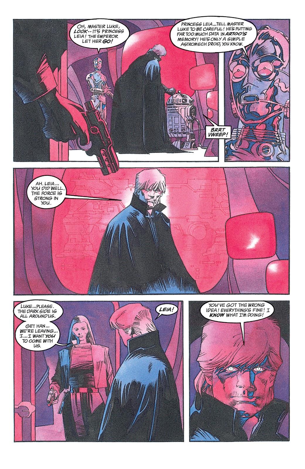 Read online Star Wars: Dark Empire Trilogy comic -  Issue # TPB (Part 2) - 17