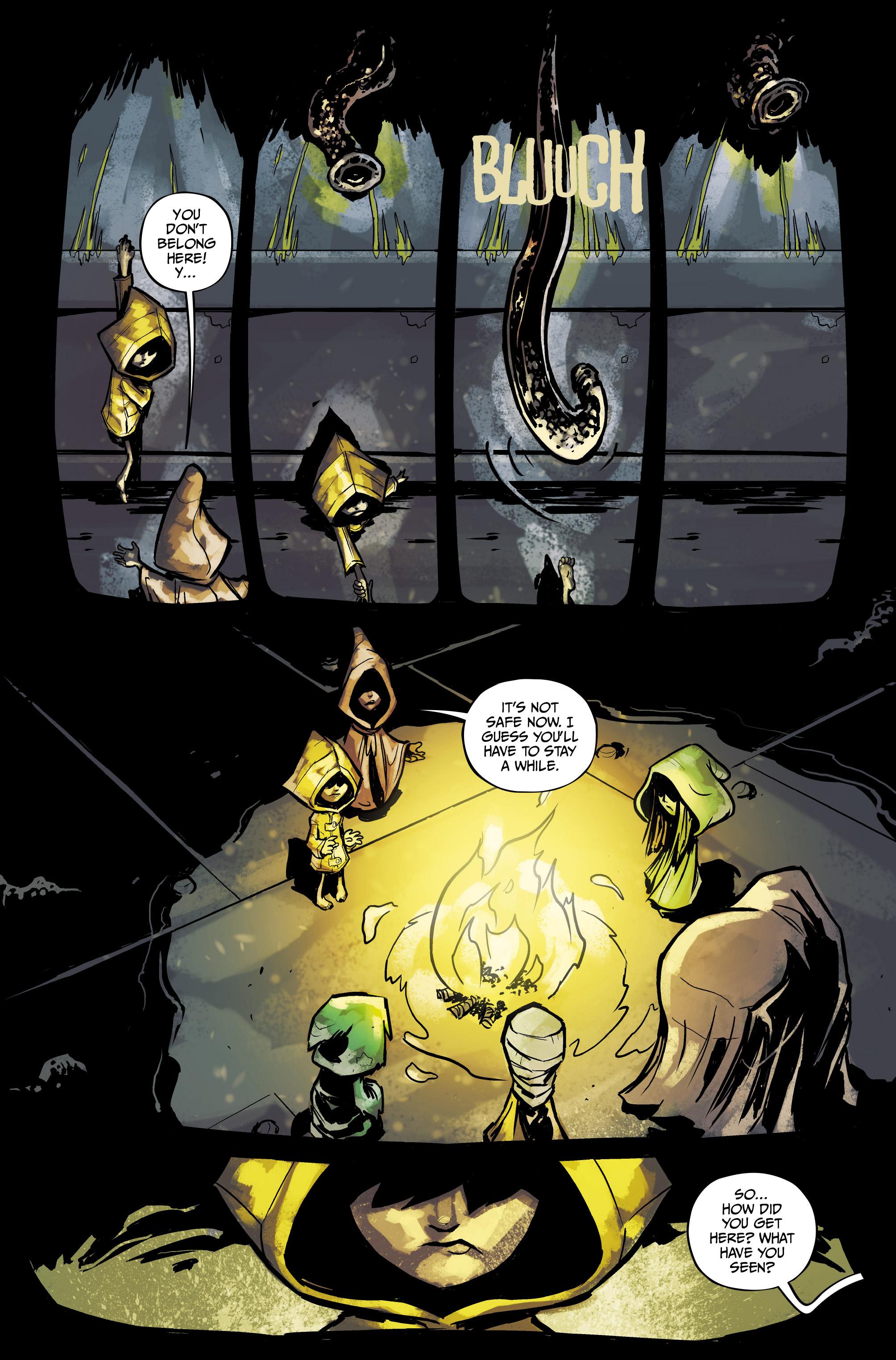 Read online Little Nightmares comic -  Issue #1 - 4
