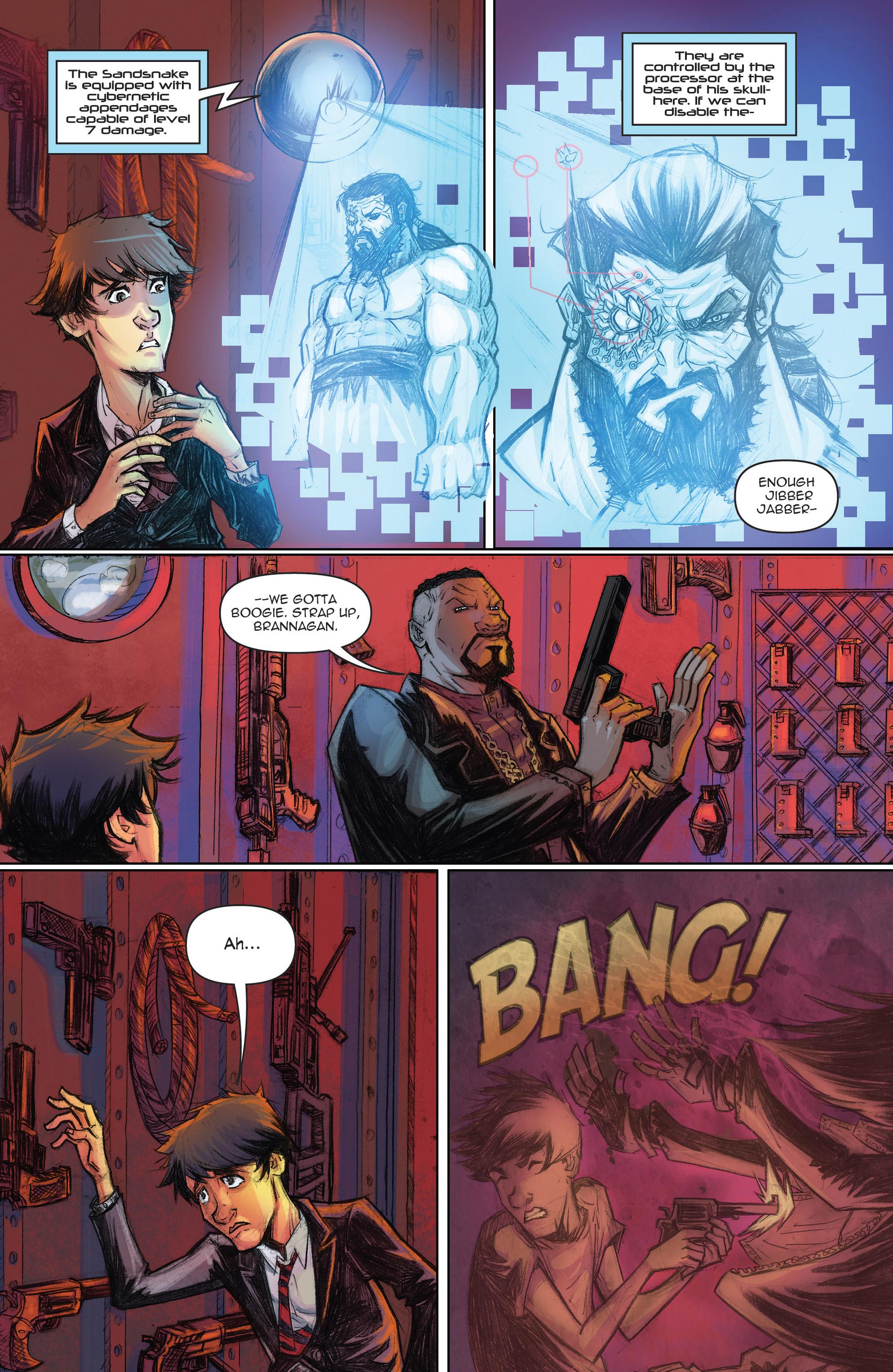 Read online Infinite Seven comic -  Issue #3 - 15