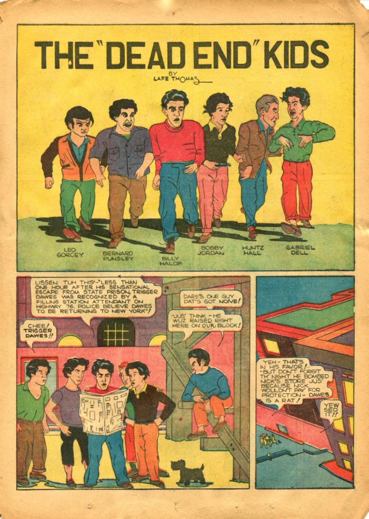 Read online Shadow Comics comic -  Issue #12 - 31