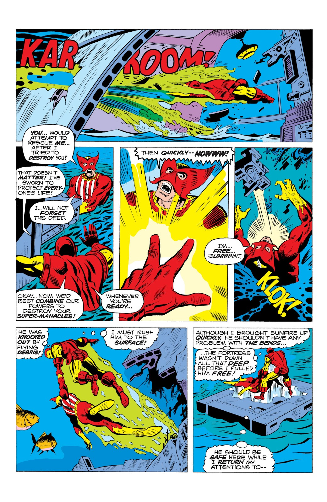 Read online Marvel Masterworks: The Invincible Iron Man comic -  Issue # TPB 10 (Part 1) - 38