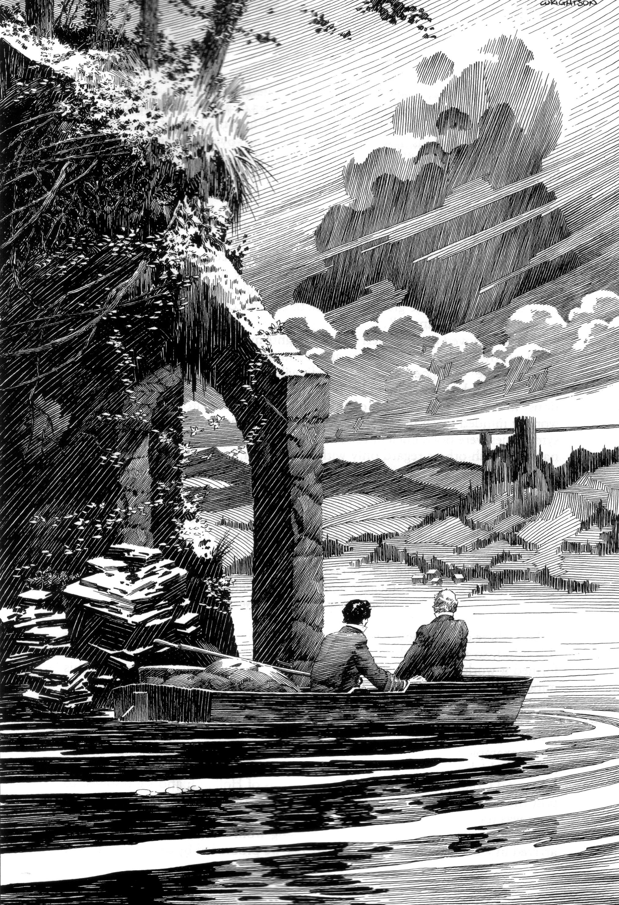 Read online Bernie Wrightson's Frankenstein comic -  Issue # Full - 32