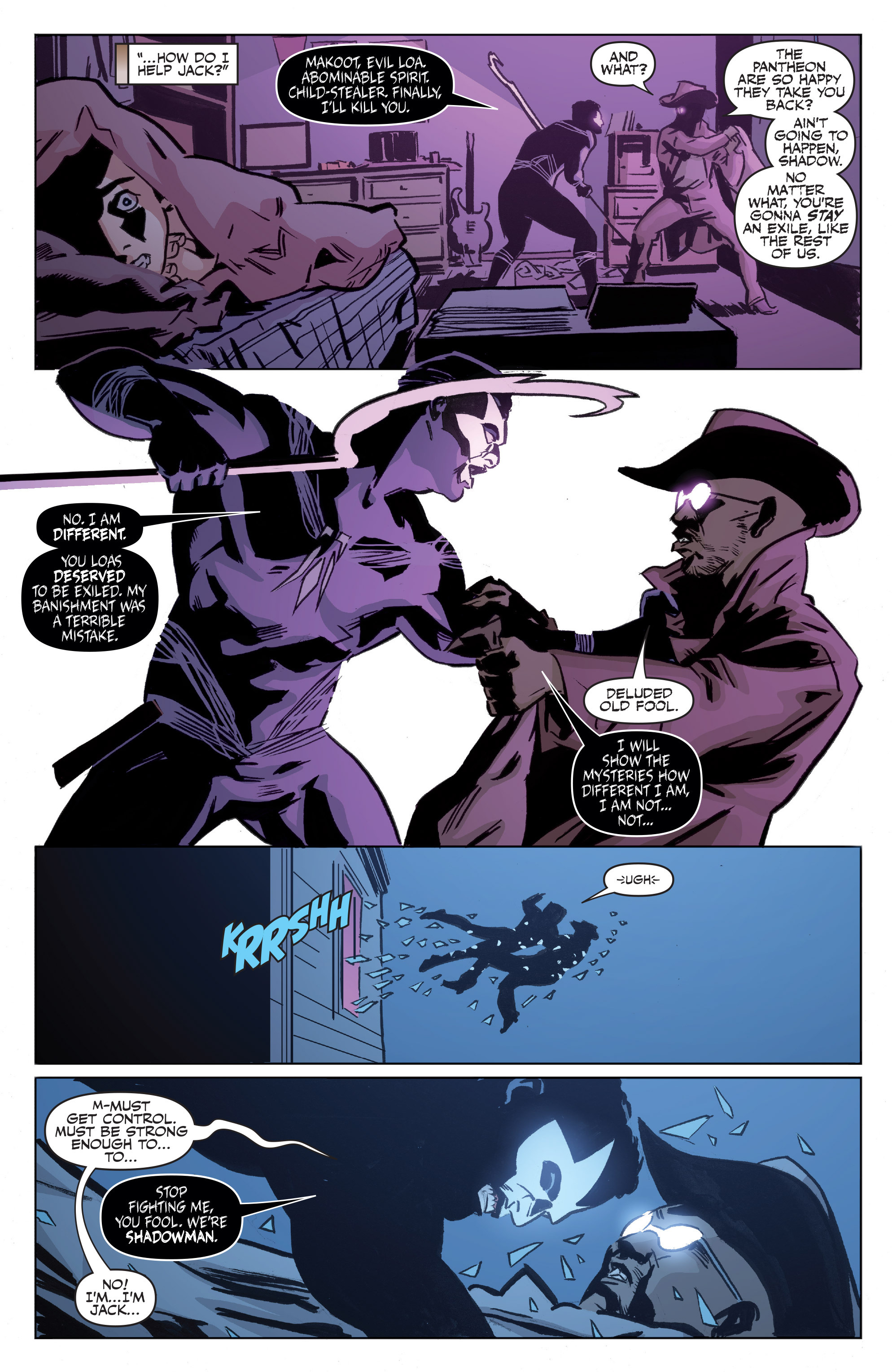 Read online Shadowman: End Times comic -  Issue #1 - 12