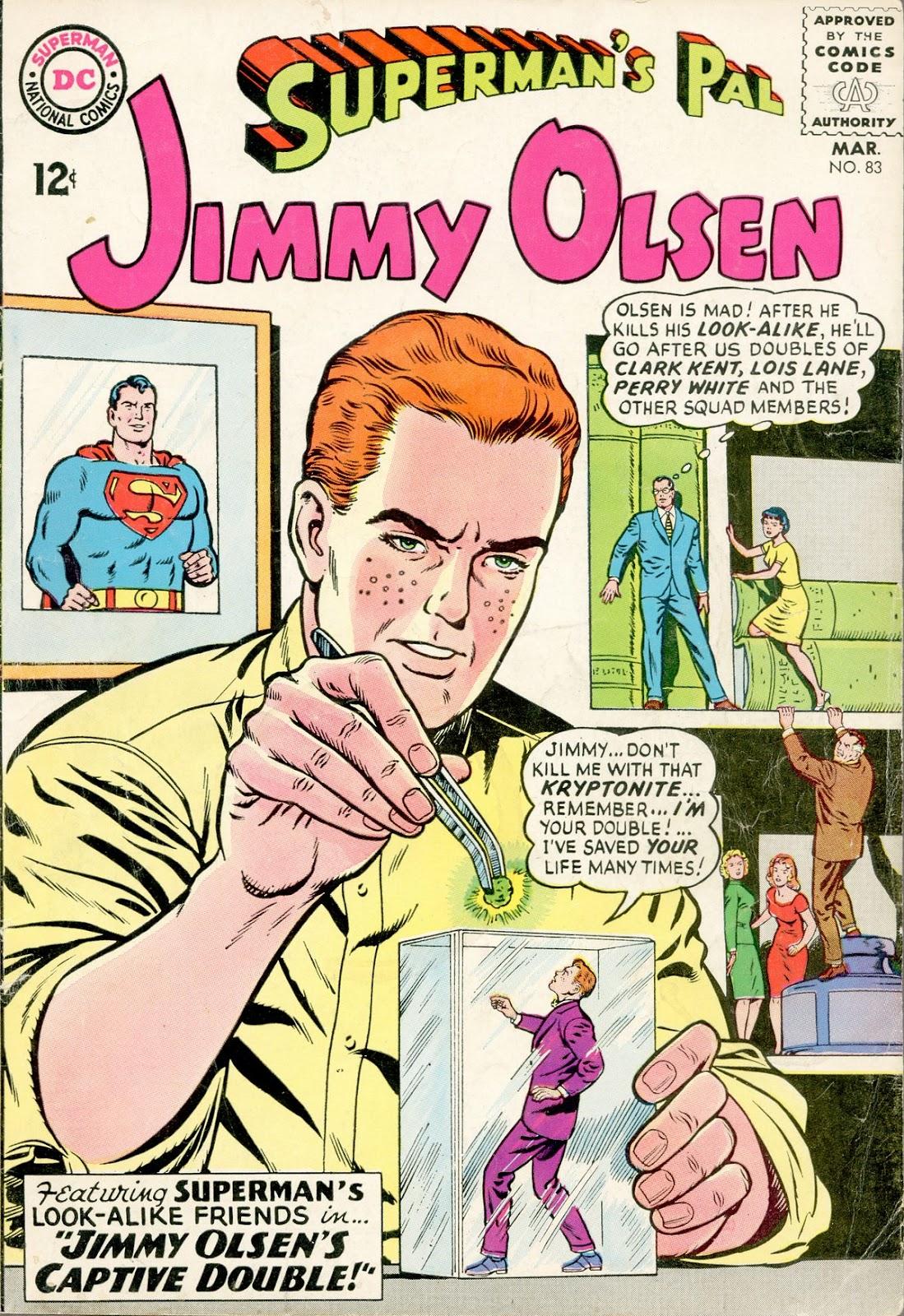 Supermans Pal Jimmy Olsen (1954) 83 Page 1