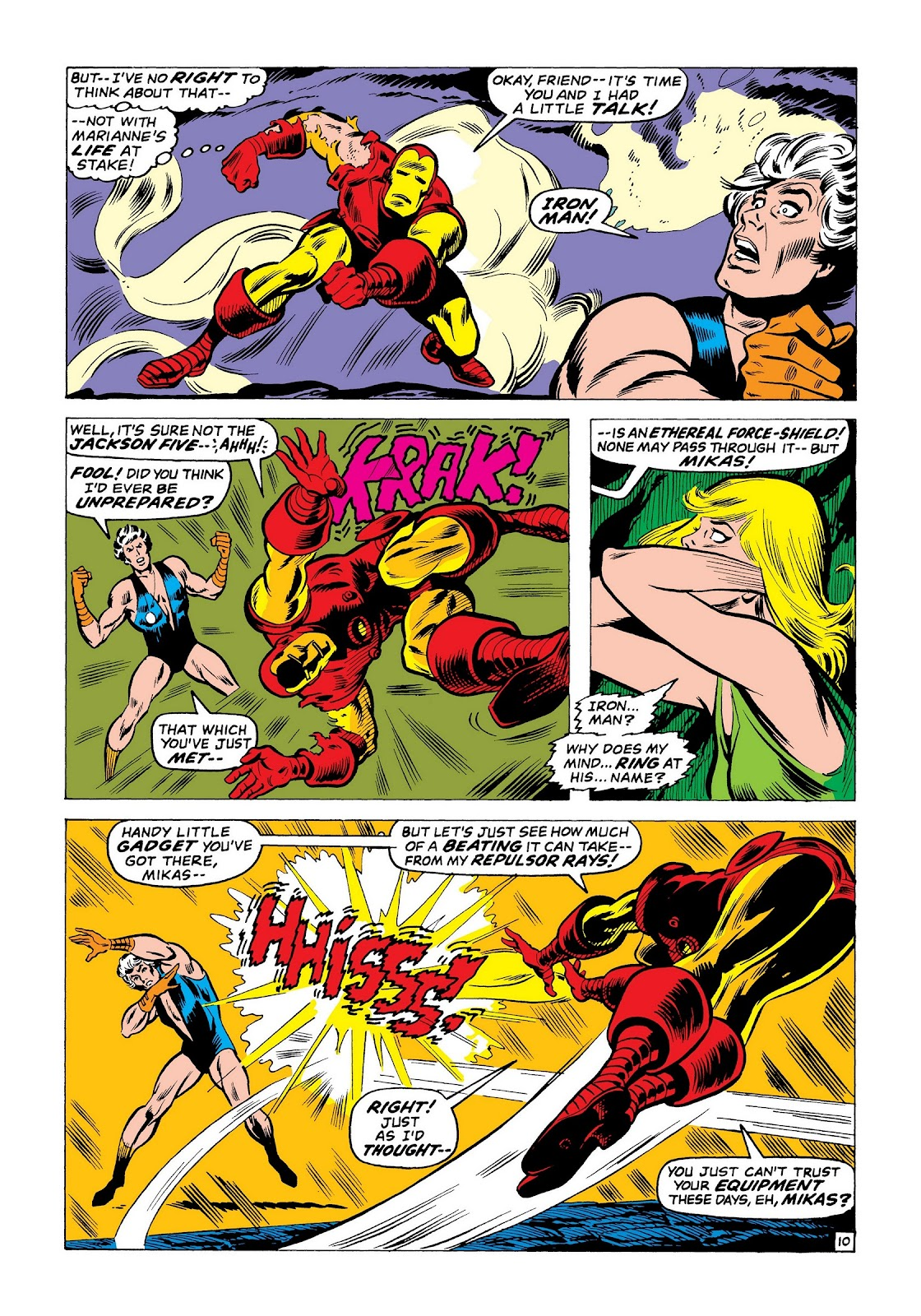 Read online Marvel Masterworks: The Invincible Iron Man comic -  Issue # TPB 8 (Part 1) - 97