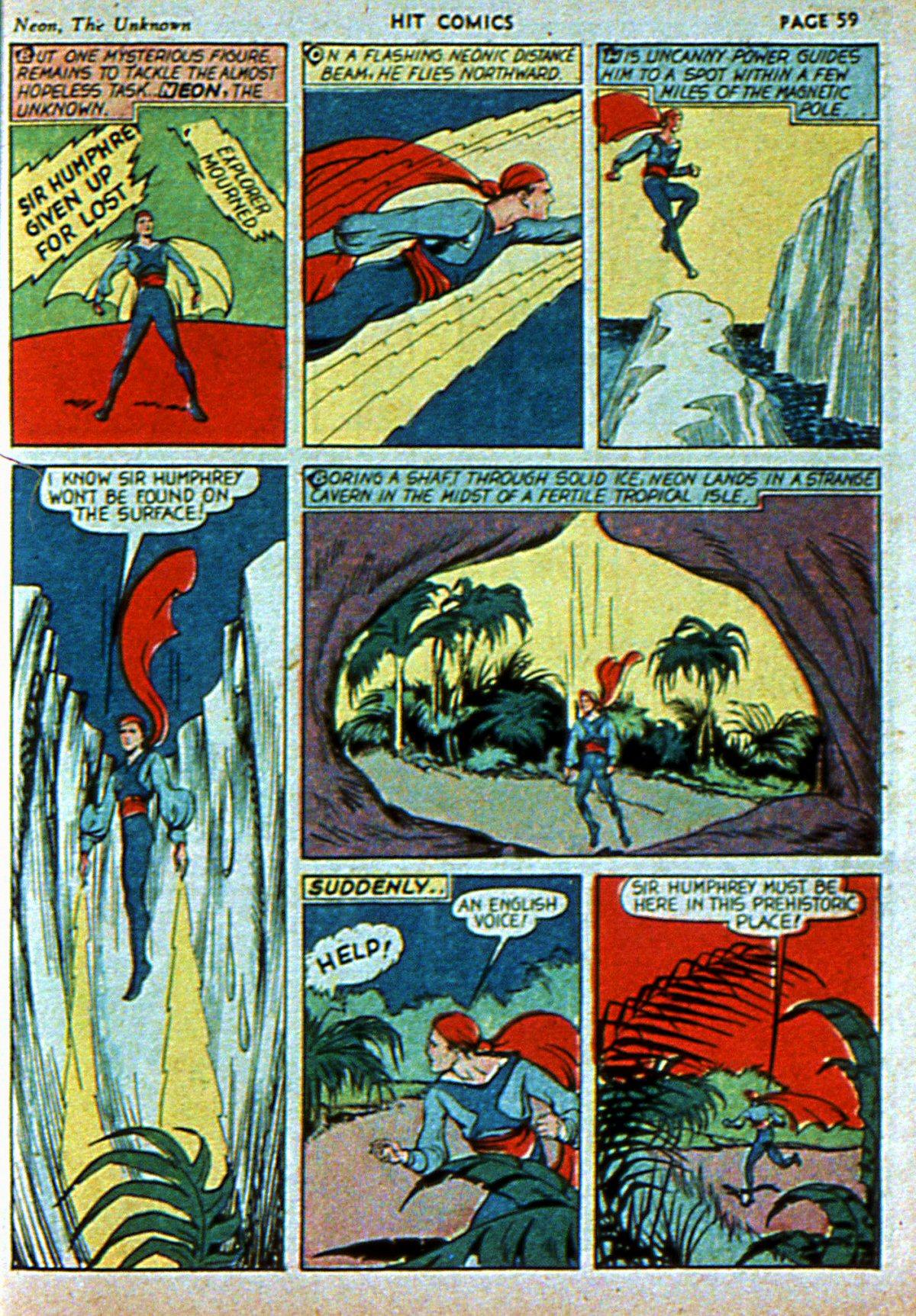 Read online Hit Comics comic -  Issue #3 - 61
