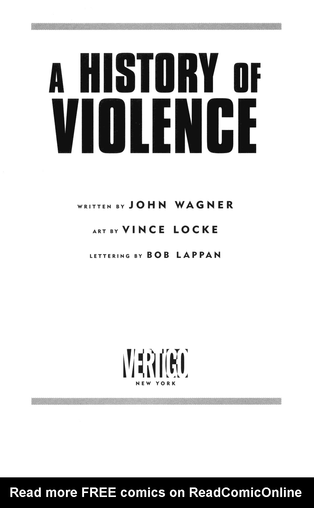 Read online A History of Violence comic -  Issue #A History of Violence Full - 6