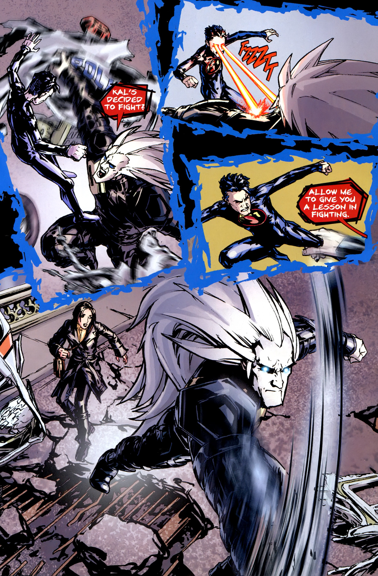 Flashpoint: Project Superman #3 - Read Flashpoint: Project ...