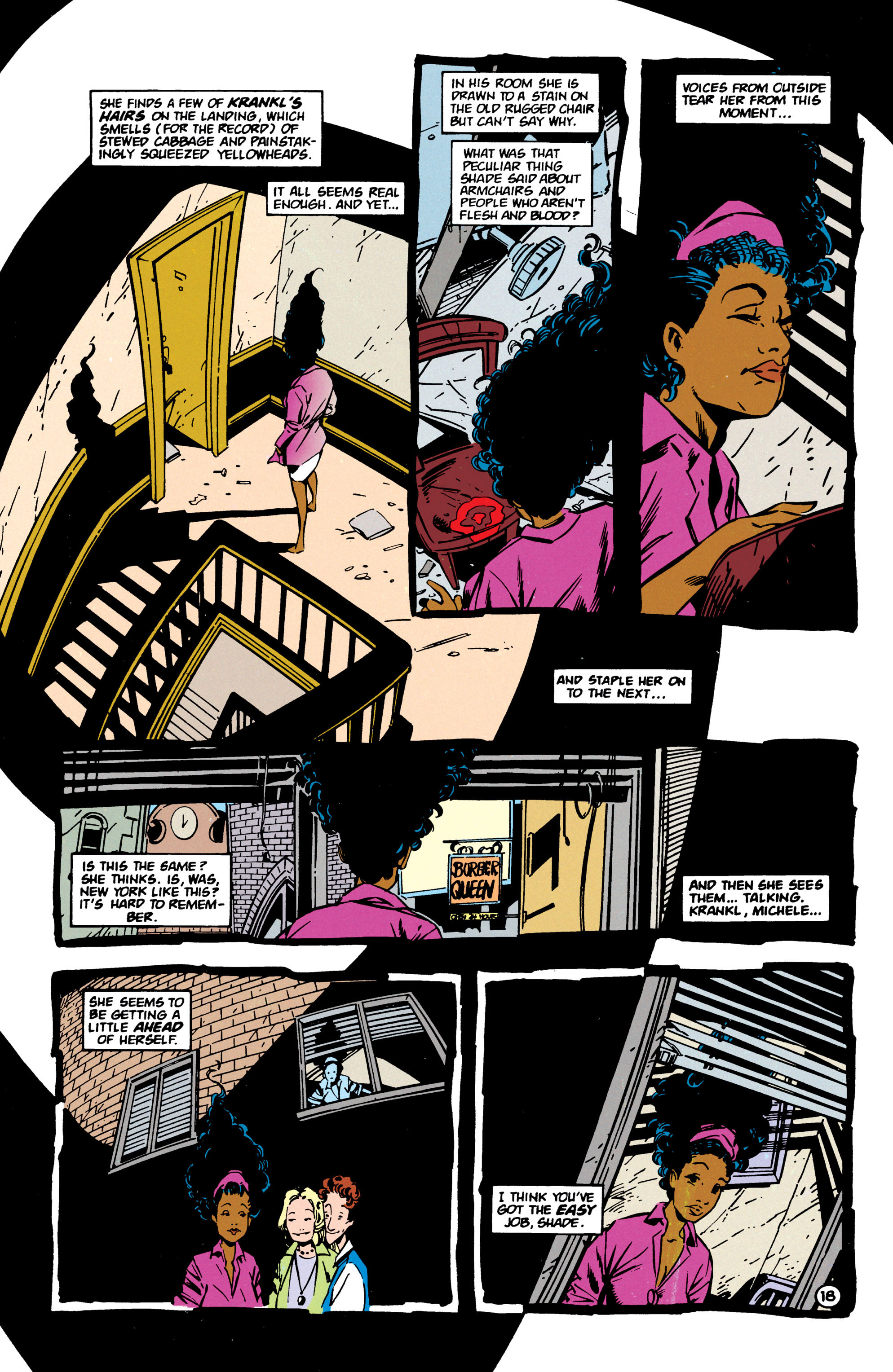 Read online Shade, the Changing Man comic -  Issue #60 - 19