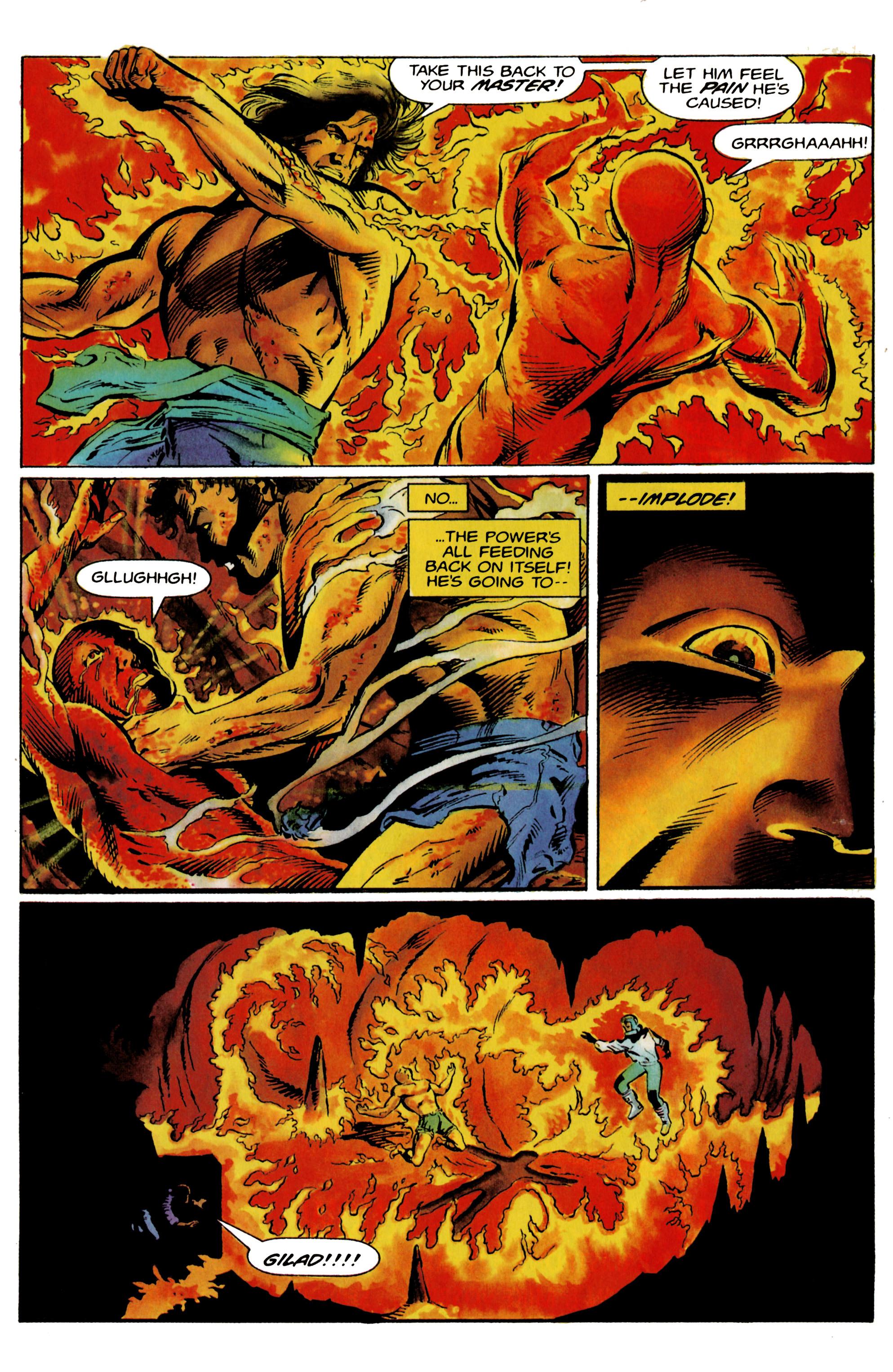 Read online Eternal Warrior (1992) comic -  Issue #19 - 20