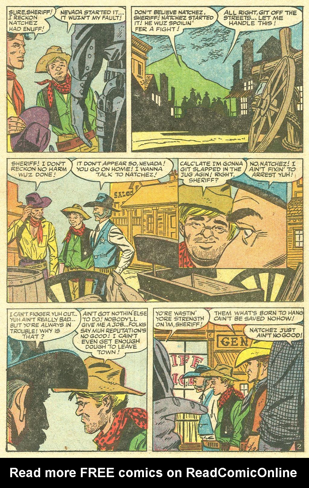 Read online Two-Gun Kid comic -  Issue #32 - 22