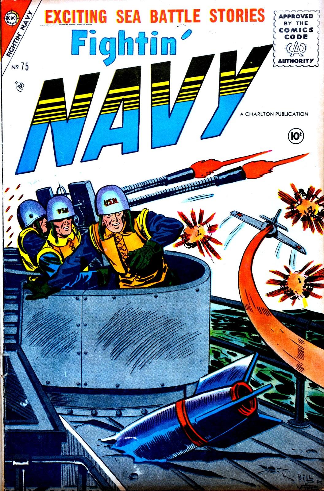 Read online Fightin' Navy comic -  Issue #75 - 1