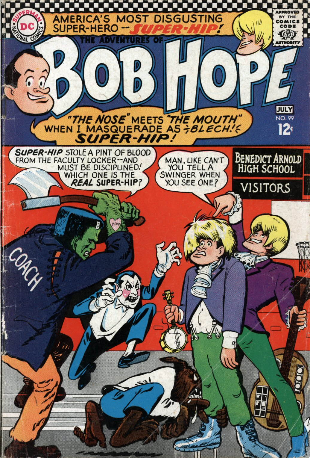 The Adventures of Bob Hope issue 99 - Page 1